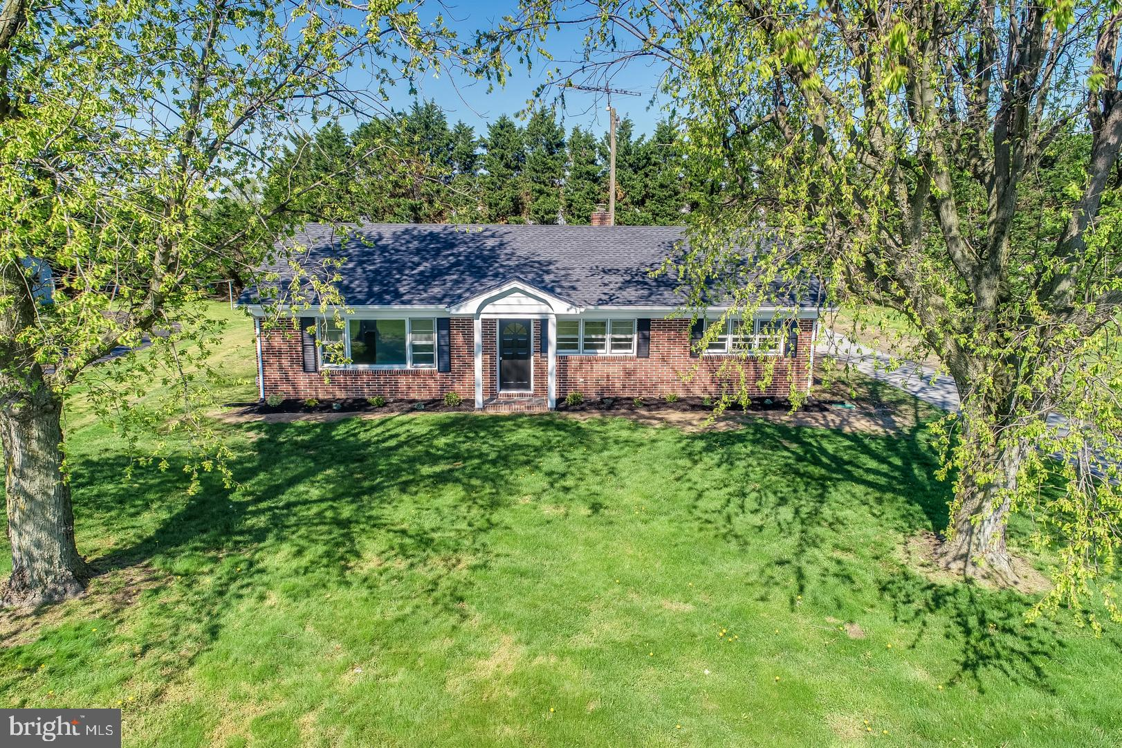Beautifully renovated 3 bedroom 1 bathroom brick rancher sitting on just under 1/2 an acre is ready