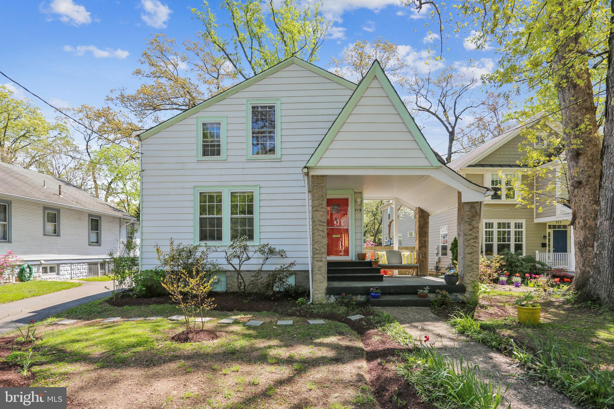 Come see this charming 4 bedroom, 2 full bath Colonial on a beautifully landscaped lot with an expan
