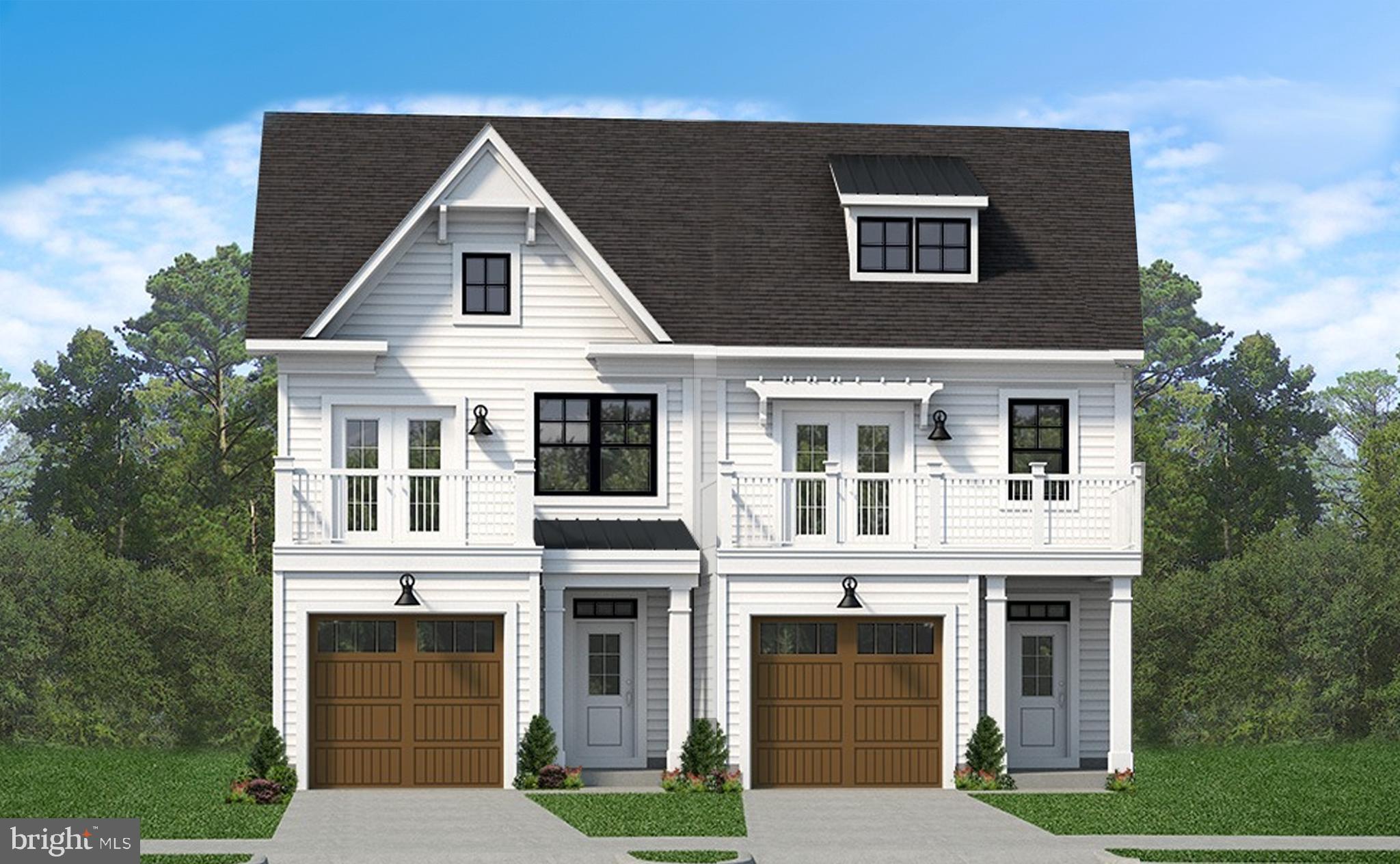 "Evergreene Homes Award- Winning ""Coastal Clipper"" floor plan is being offered in luxurious Duplex Ho"