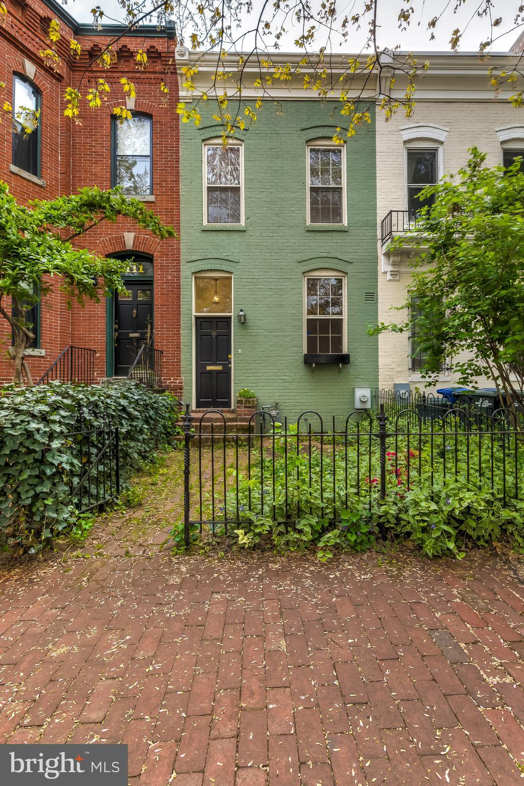 Wonderful opportunity to make this lovely brick home in the heart of Capitol Hill your own. This two