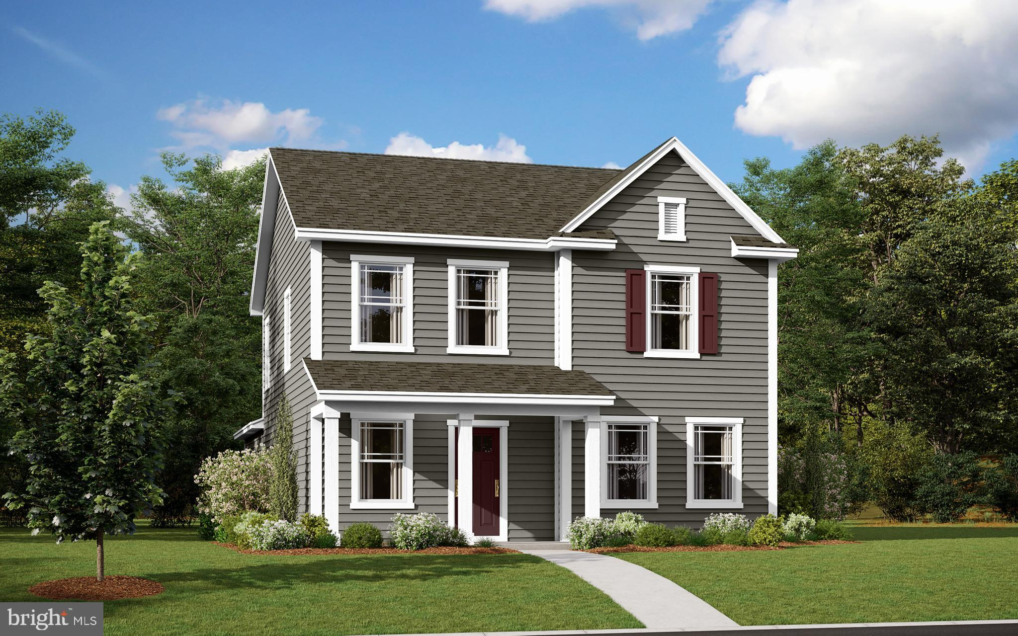 This new construction home in Milford's Simpsons Crossing neighborhood will be complete in June! A w