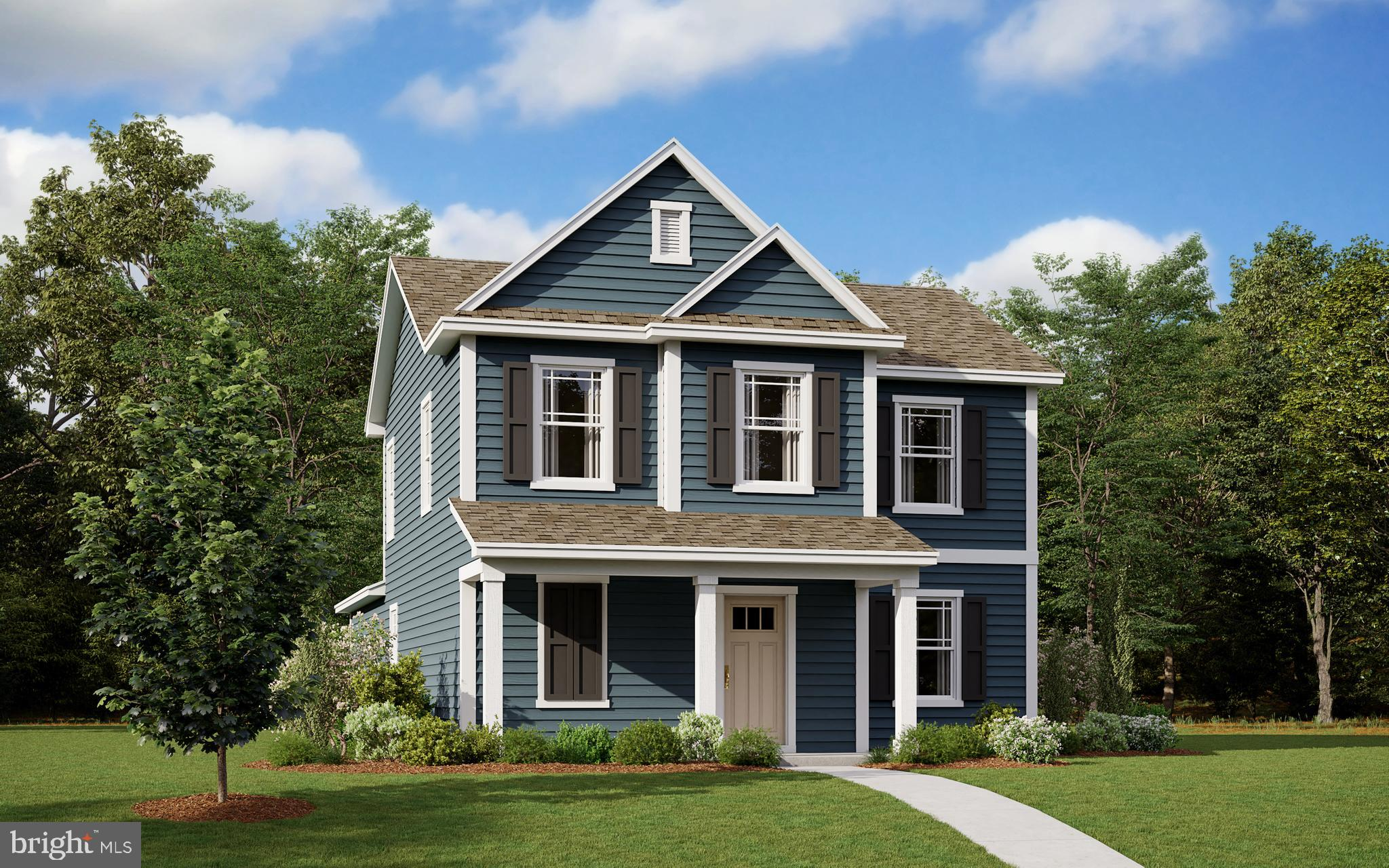 New construction home available in July in the Simpsons Crossing neighborhood in Milford! In the 164