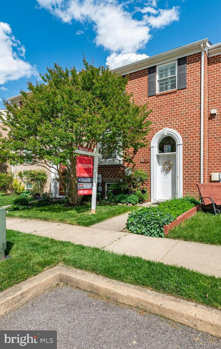 Seller will consider CLOSING COST Help.  Rare Find...All Brick townhome in Howard High School distri