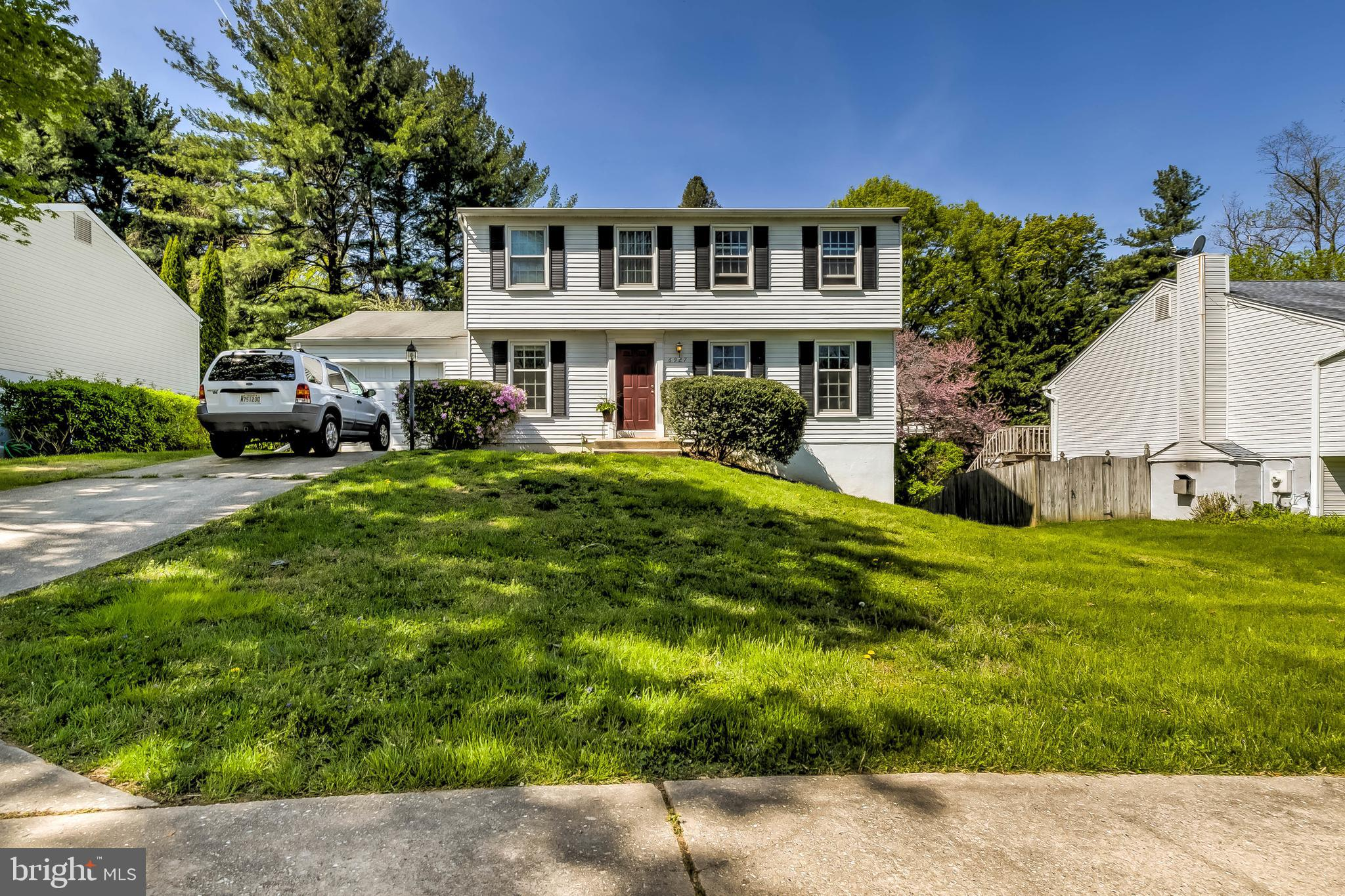 Fantastic value in award-winning Howard County. Generously sized 4BD/2.5BA colonial, backing to open