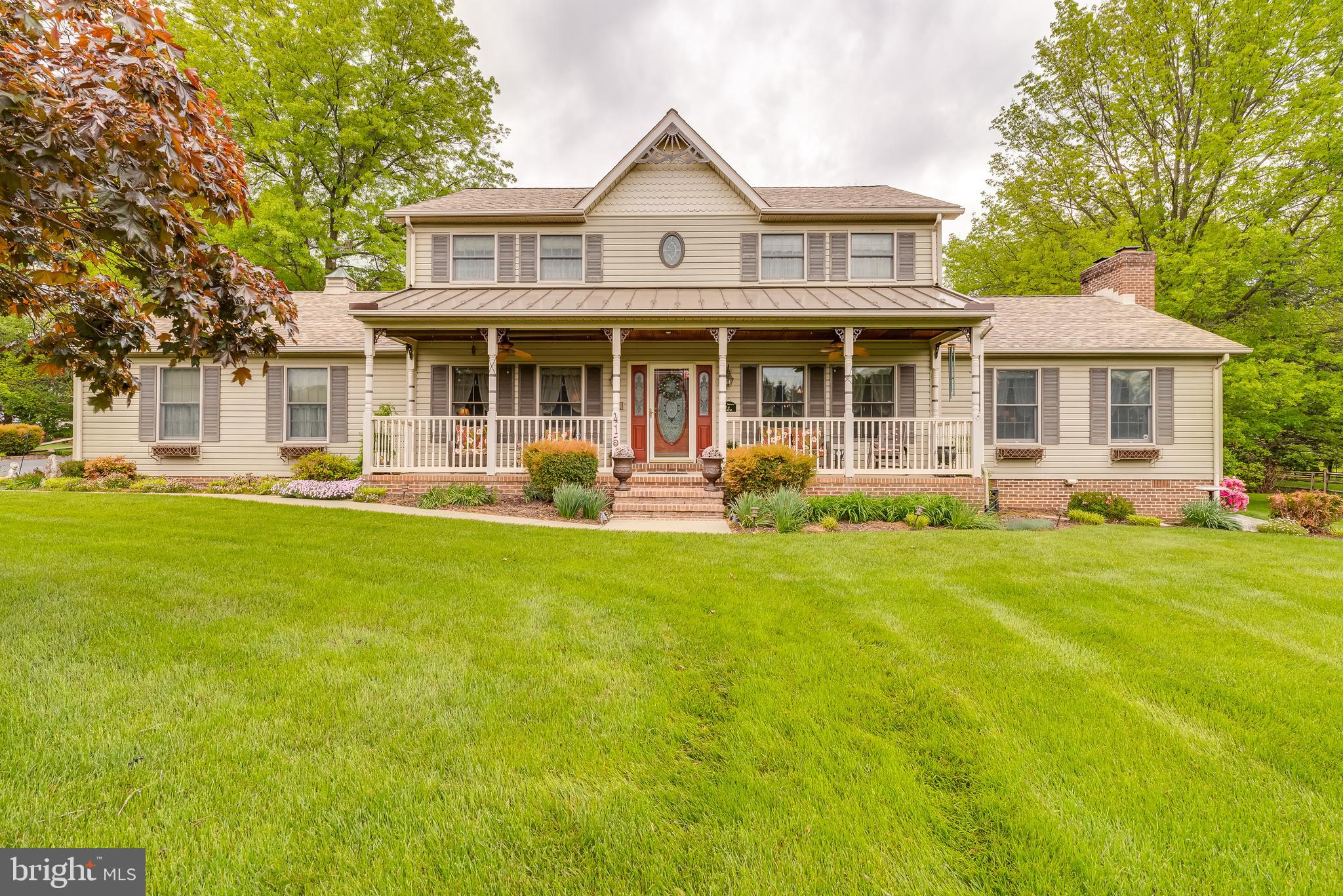 Be the second owner in this beautiful two story colonial situated on over an acre!  This home has be