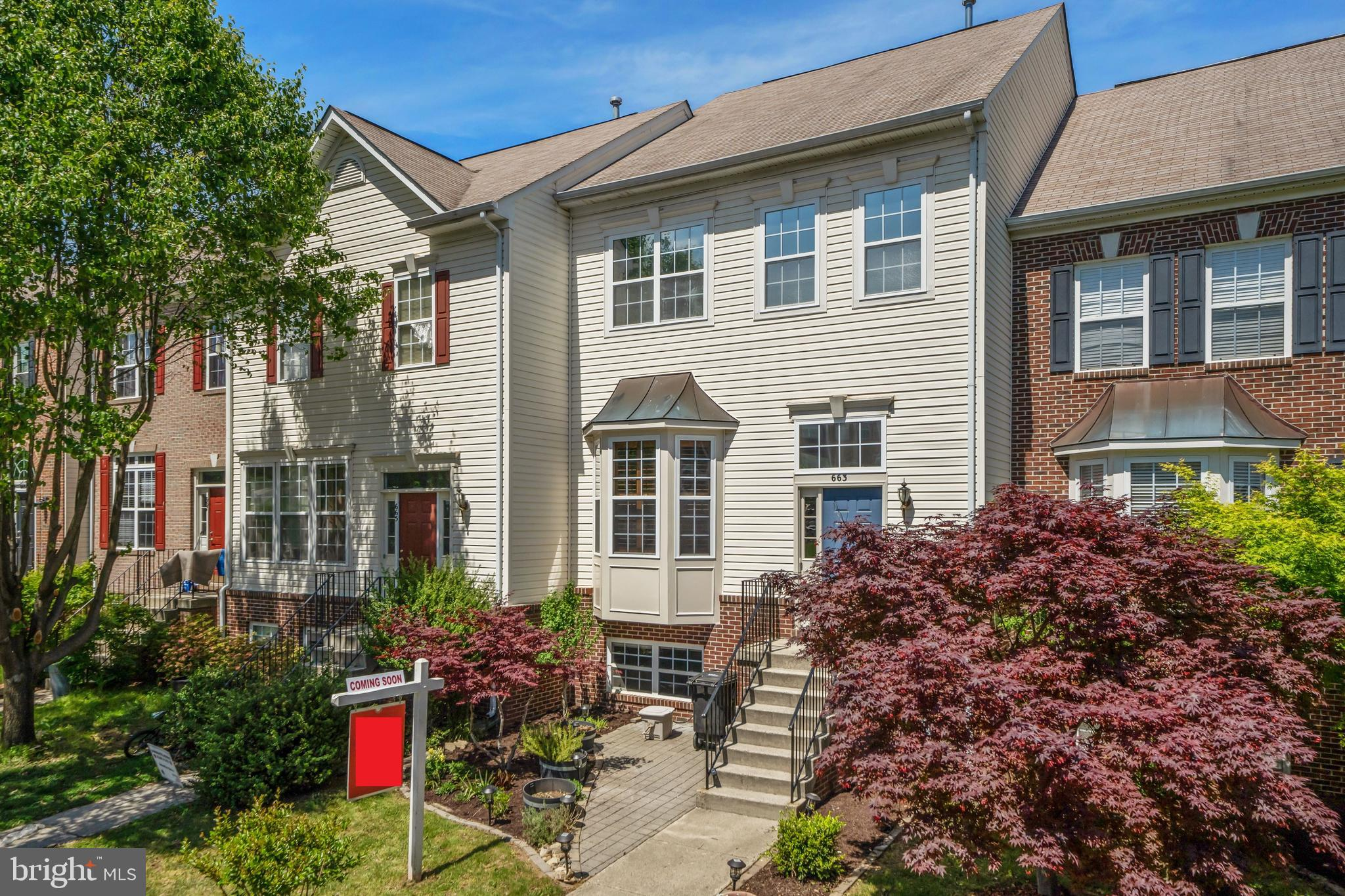 Beautiful 3 level townhome in Tavistock Farms community of Leesburg.    Big open kitchen, dining, and living areas on the main floor.  The kitchen has a huge pantry and more custom above-pantry storage.  Spacious basement rec room and a 4th bedroom with a full bathroom in the basement.  Lots of natural light throughout the entire home.  Deck off the kitchen leading down to the fully fenced backyard.  Giant primary suite on upper level with 2 secondary bedrooms and a hall bathroom.  New AC Unit April 2019, New Fridge July 2016, New Laminate Wood Flooring on Main  Floor and basement September 2016.   This is a great community with a pool, a new playground, lots of paths and an active social committee.
