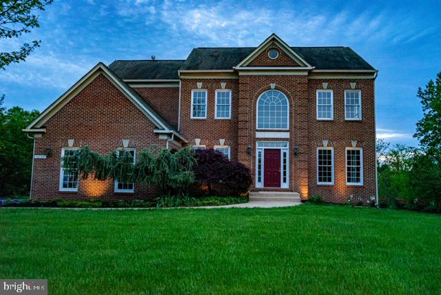 Offer deadline is Saturday May 15th at 12:00PM. Elegant custom colonial on over 5 acres of breath-taking scenic views. Inviting 2 story foyer with L shaped staircase and beautiful chandelier. Perfect entertainer's home with formal living room and dining room with butler's pantry. Hardwood floors on main and upper level and 9ft ceilings on all 3 levels. Large kitchen with center island, cooktop, and area for breakfast table. Huge and bright family room with stone fireplace and large windows looking out to the yard that backs to the woods. Step into the private owner's suite with walk in closet and tray ceiling. Relaxing bathroom with soaking whirlpool tub, separate shower, and double sinks. Additional 3 bedrooms located on upper level. Hall bathroom with double sinks and tub/shower combo. This is an opportunity not to be missed. Located in the Stoneleigh Golf and Country Club Community and located minutes to Route 7.