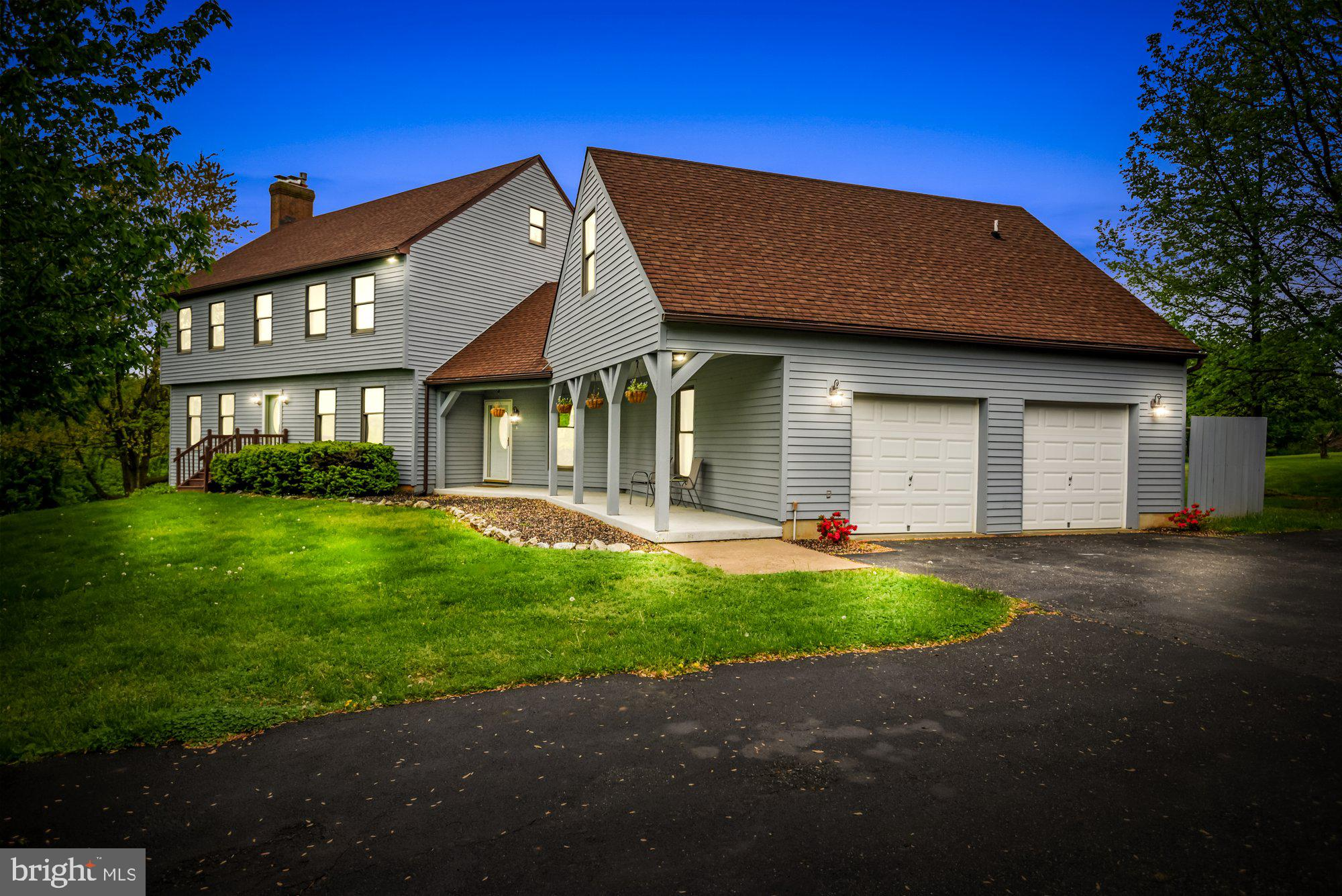 Welcome home to this beautiful colonial situated on 3.21 acres. Enjoy the outdoors on the screened p