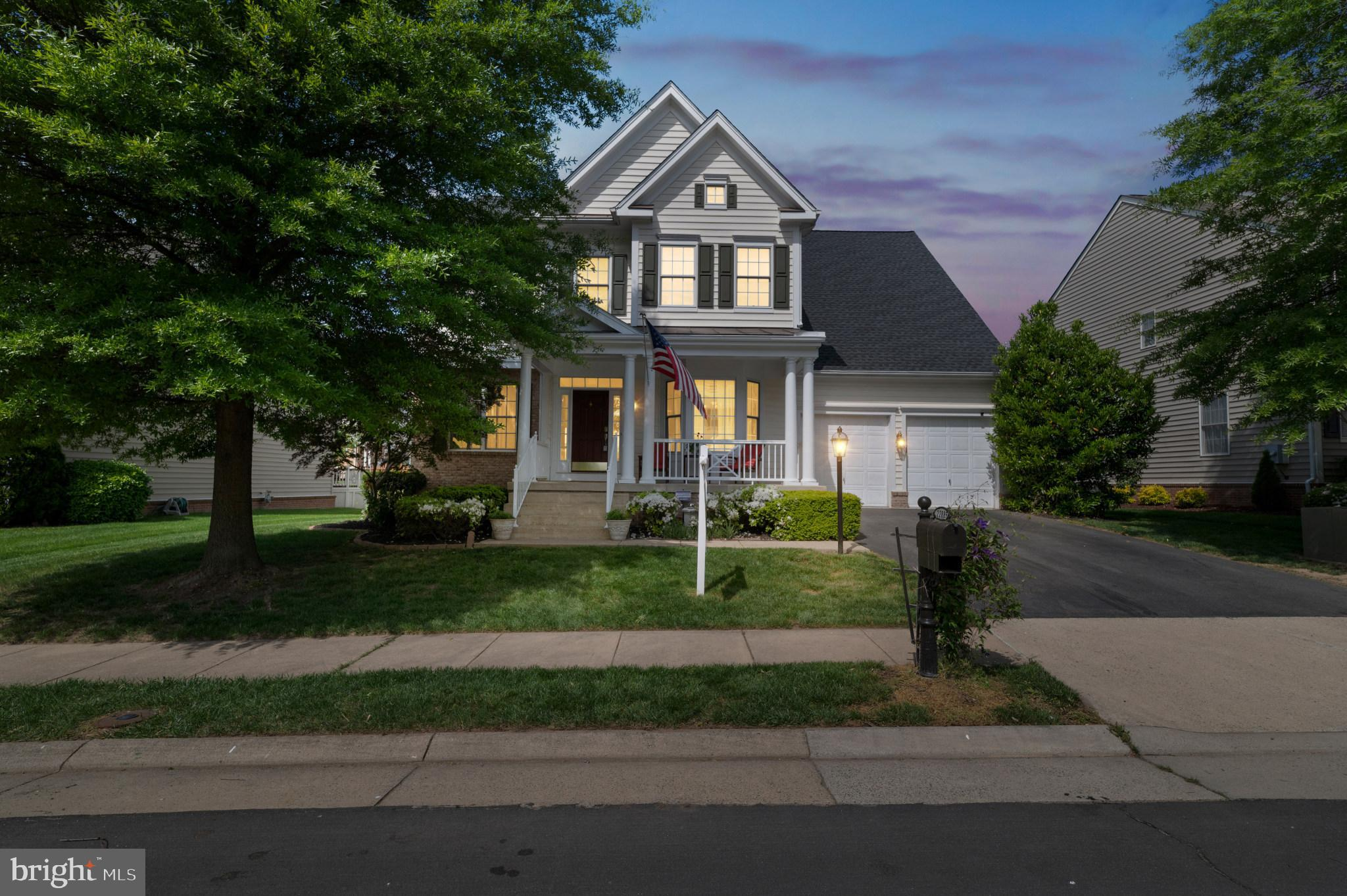 This stunning, spacious, and very warm home located in highly desirable Brambleton is a must see! Of