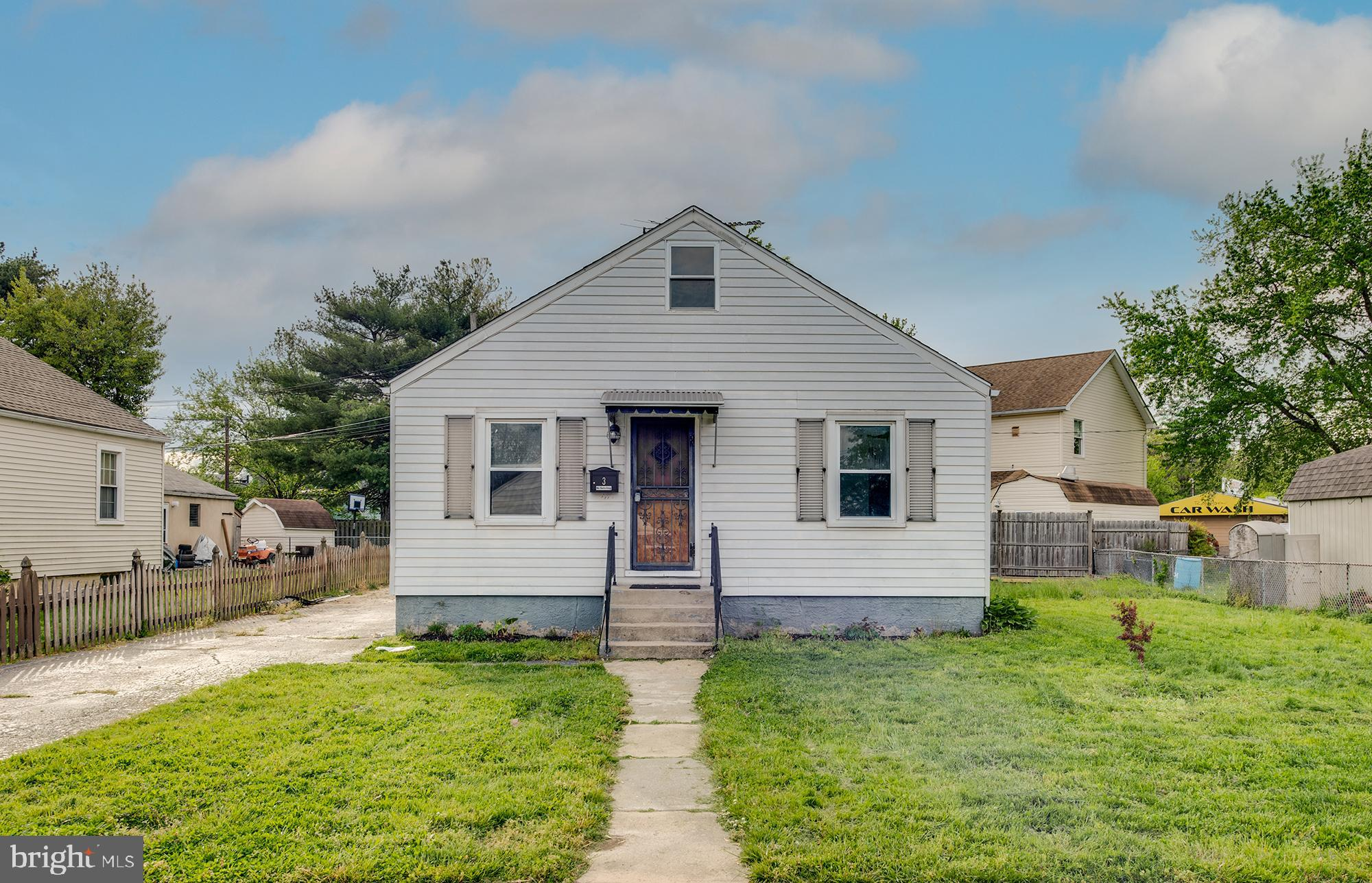 This charming Dundalk home features a large living room space, two spacious bedrooms on the main level, a full bathroom, large eat in kitchen, large back and front yards,  and a vented attic space that could be converted to a loft! This home is move in ready, but could also be an opportunity to update a home exactly the way you want to!
