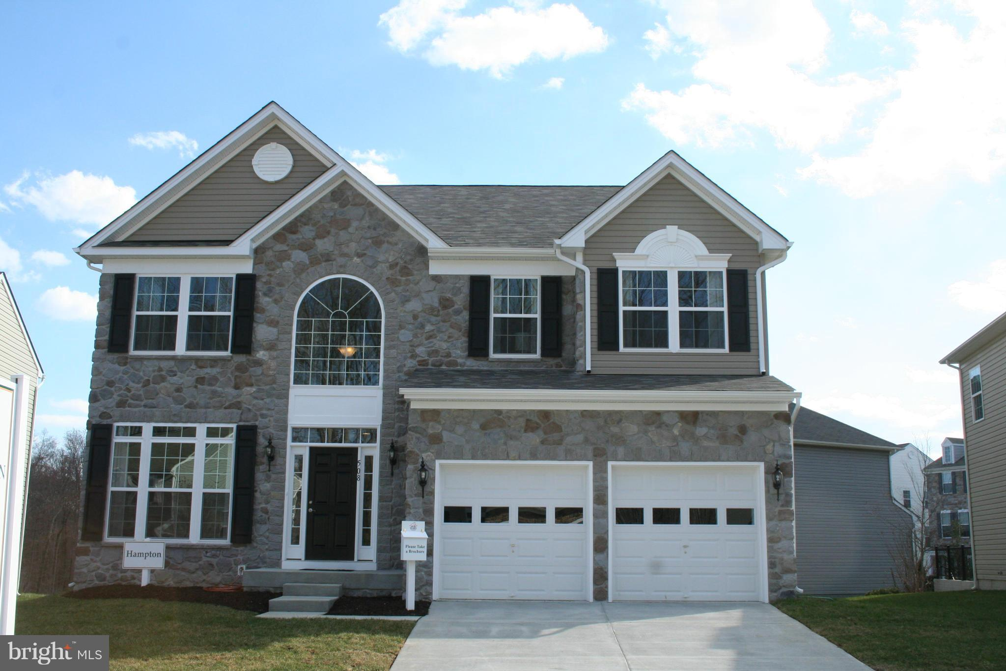 TO BE BUILT in Taneytown.  Bob Ward is offering Energy Star certified homes with many innovative pla