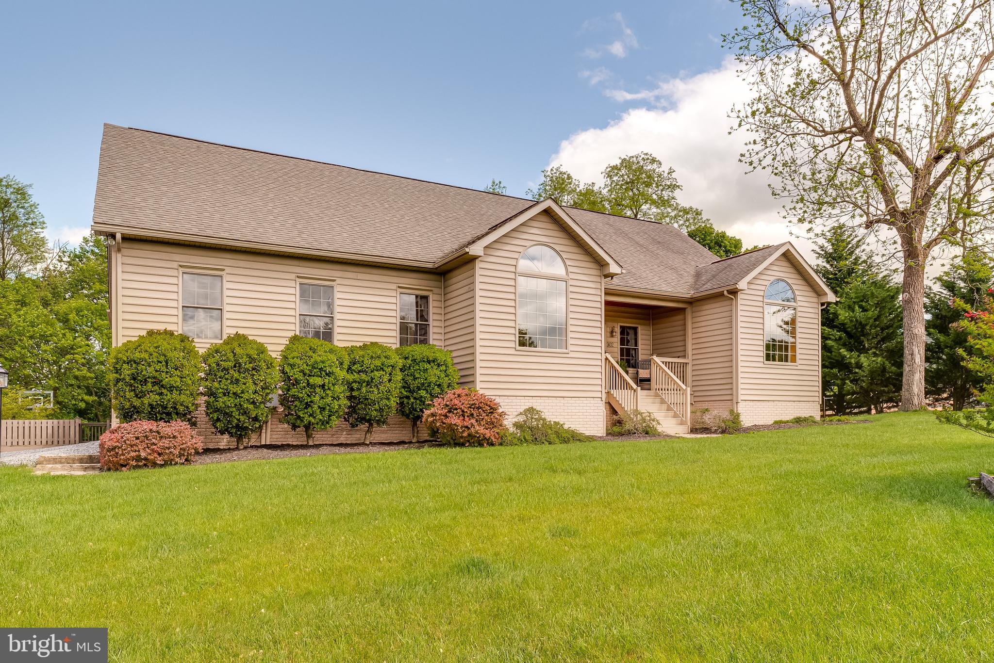 Be the second owner of this beautiful, stick built home that has so many features!  There is quality