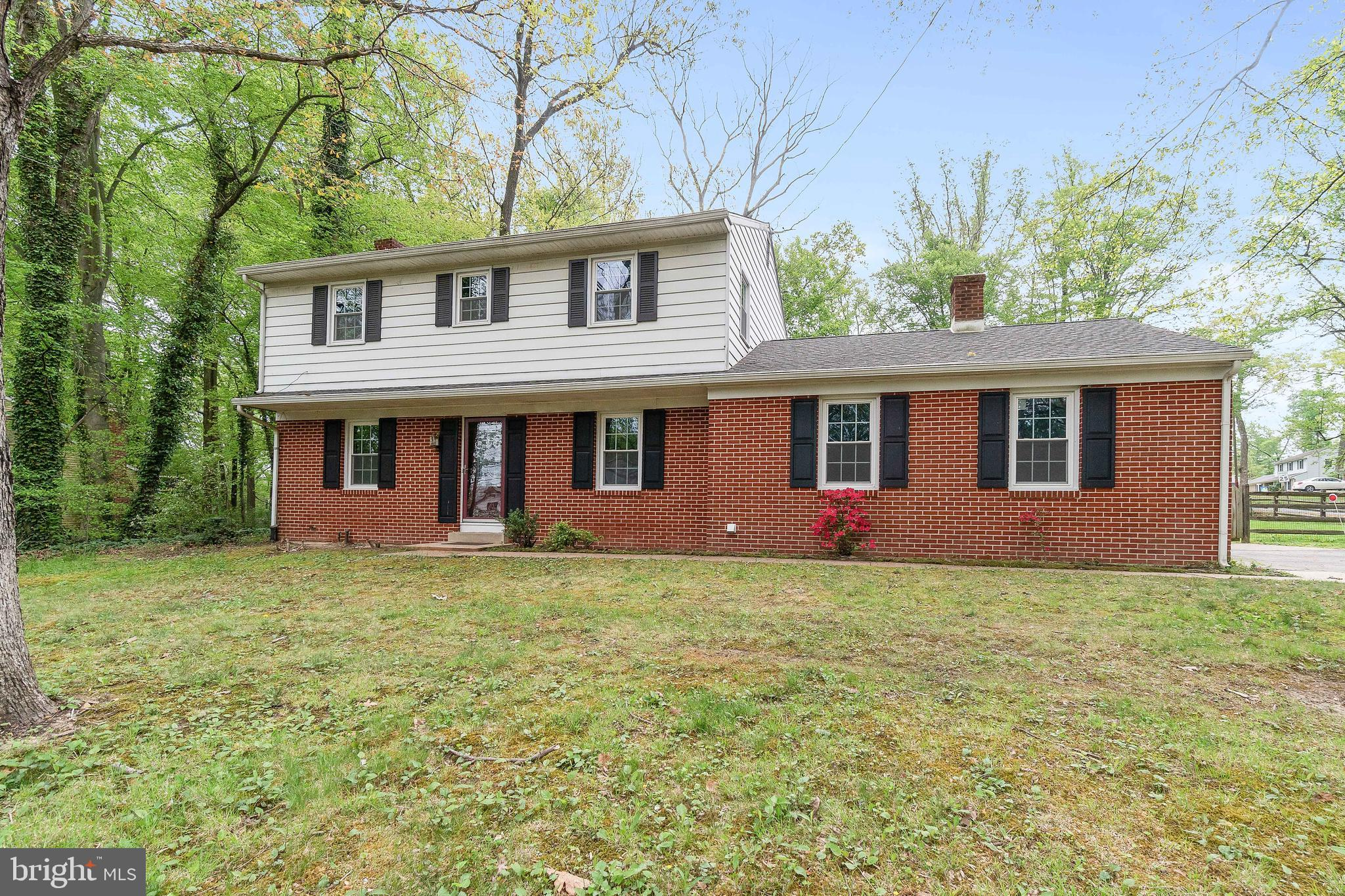 Over 2000 square feet! This spacious home has two fireplaces, hard floors throughout the home, a gre
