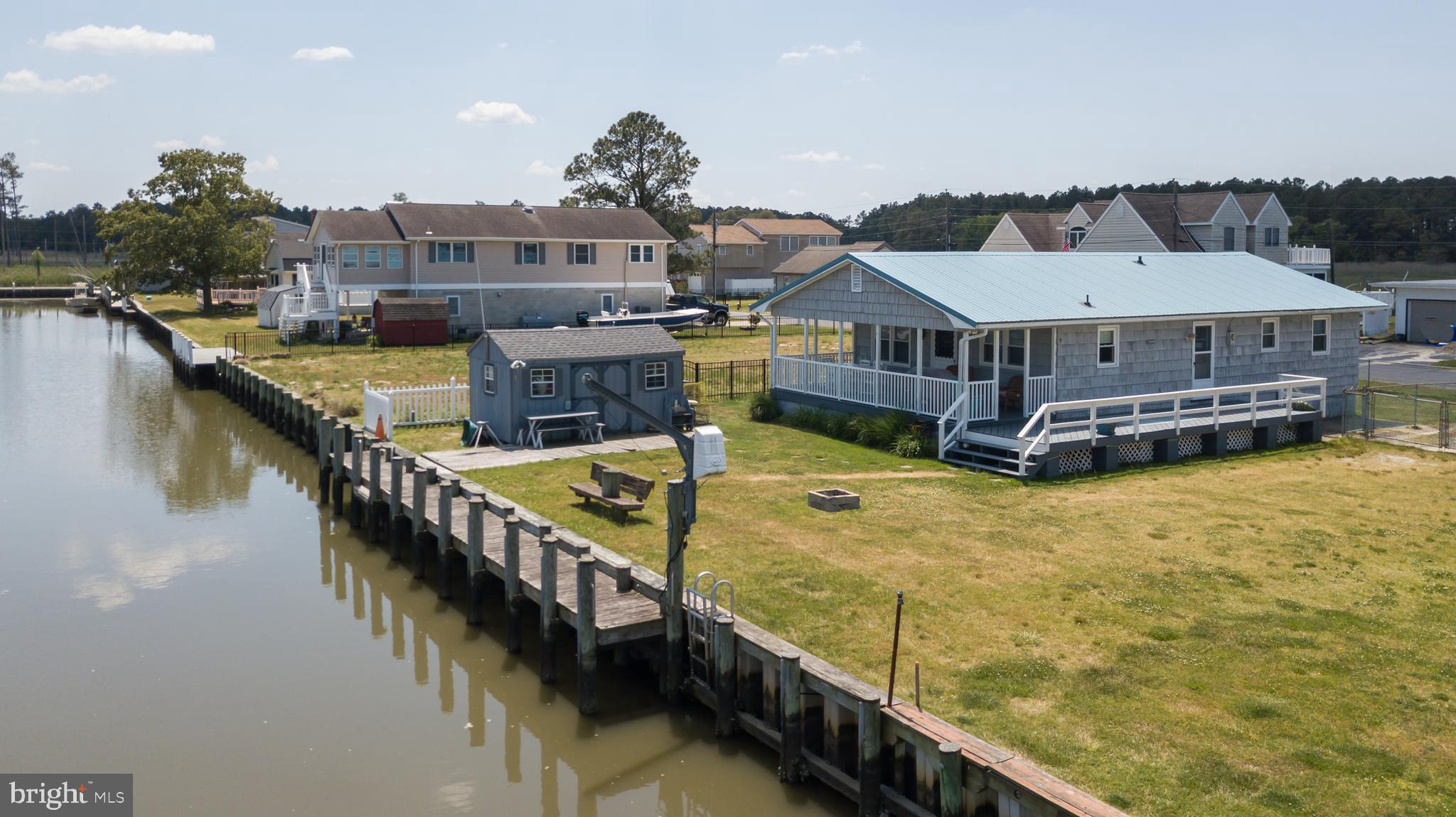 Looking for a canal  front home with boating access just a  moment from the Indian River Bay?  Here