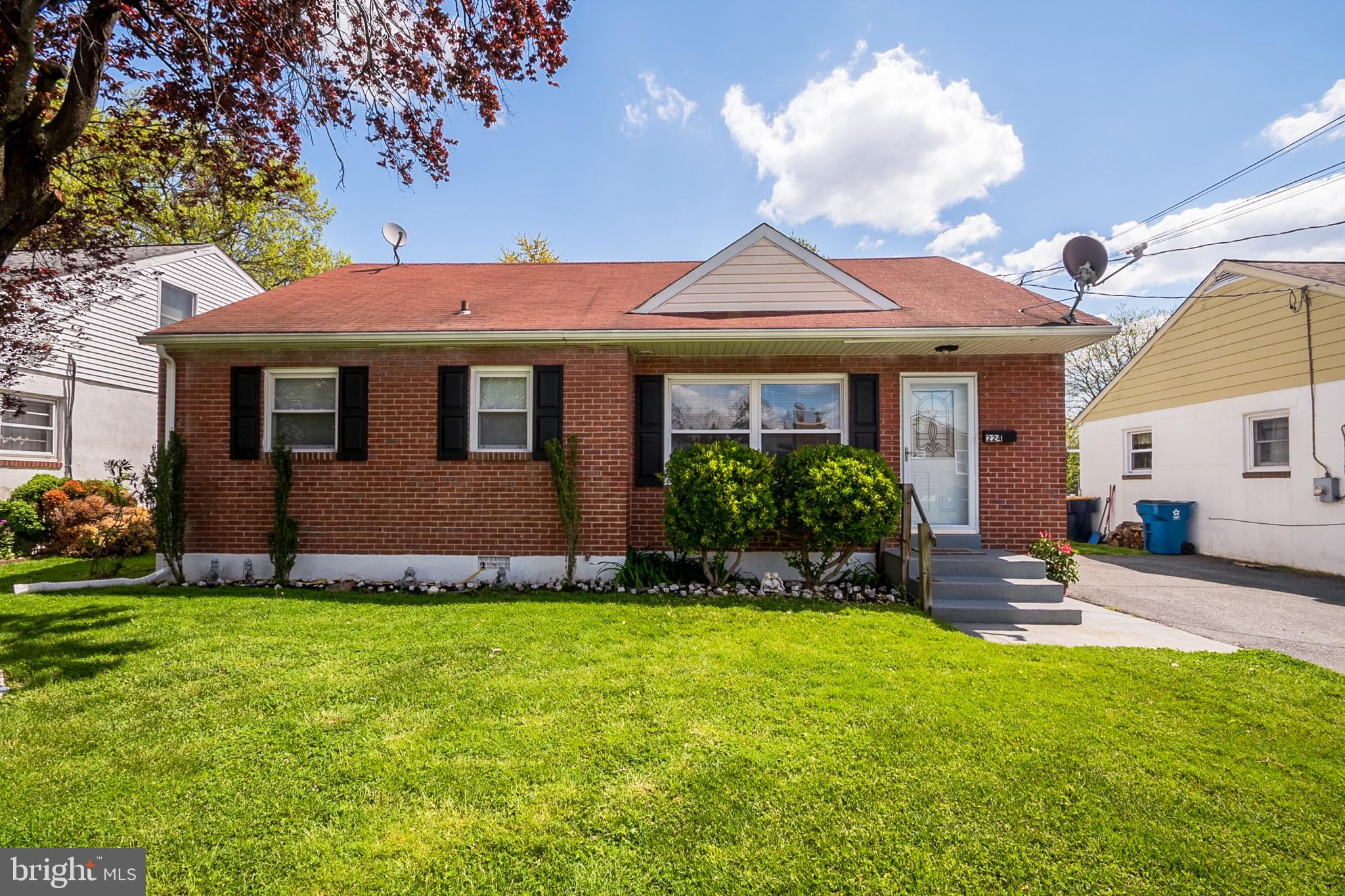 Beautifully updated 3 bedroom 1 bath brick ranch located in Elsmere Gardens with great curb appeal!
