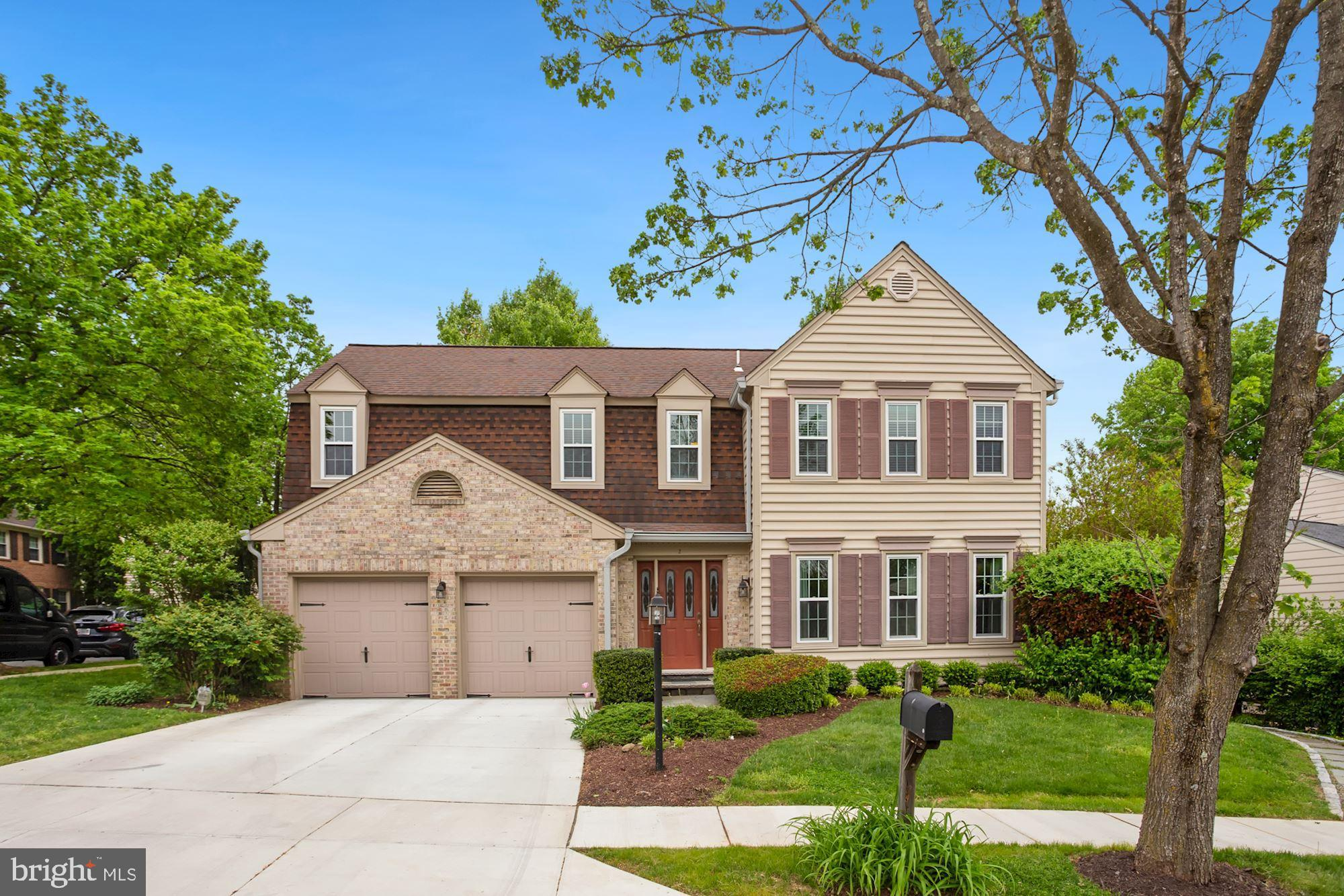 Gorgeous Colonial house located in rarely available Flint Ledge Estates! Great curb appeal with invi