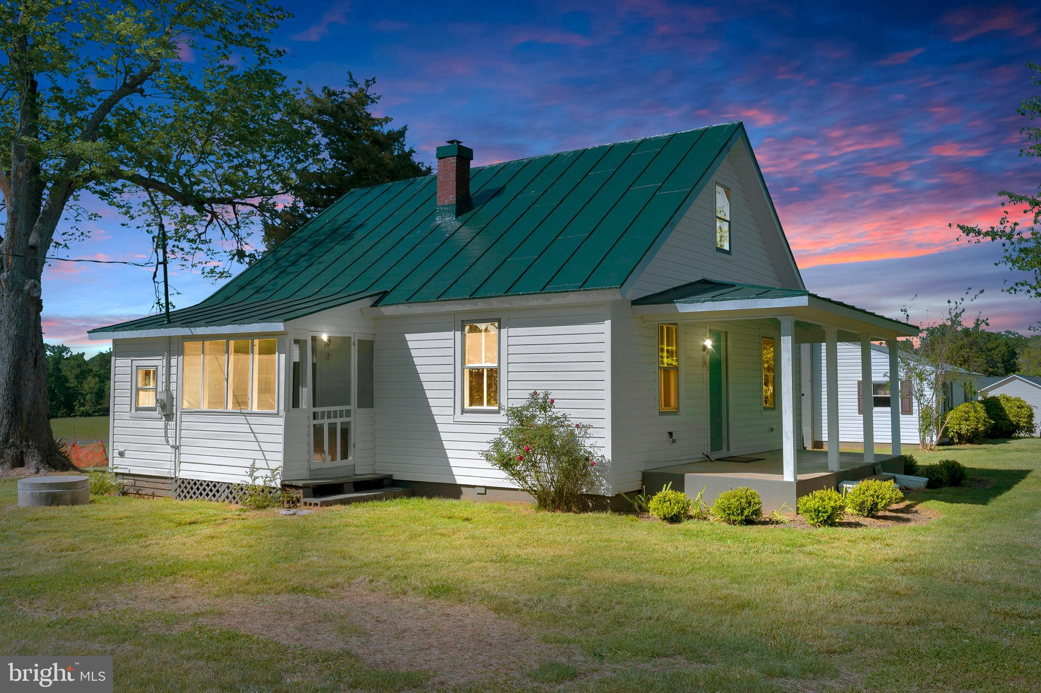 This expertly renovated Cape Cod is sure to please! The large covered front porch is a tranquil place to enjoy your morning cup of coffee. Once inside your eye is immediately drawn to the beautifully refinished hardwood floors and the fresh designer paint. The wow factor doesn't stop there! The granite graced kitchen also features brand new Cabinetry, as well as a large kitchen island & brand new appliances. No Lack of storage space here! The bath has also been given the same quality attention as the rest of the home. There is one main level bedroom and another larger bedroom on the 2nd floor. Need a workshop? Then the oversized heated 2 car detached garage might just be what you are looking for. Lastly, the expansive back yard is ready for family fun. The location can't be beat! So close to Locust Grove, Culpeper, Orange, and Fredericksburg.