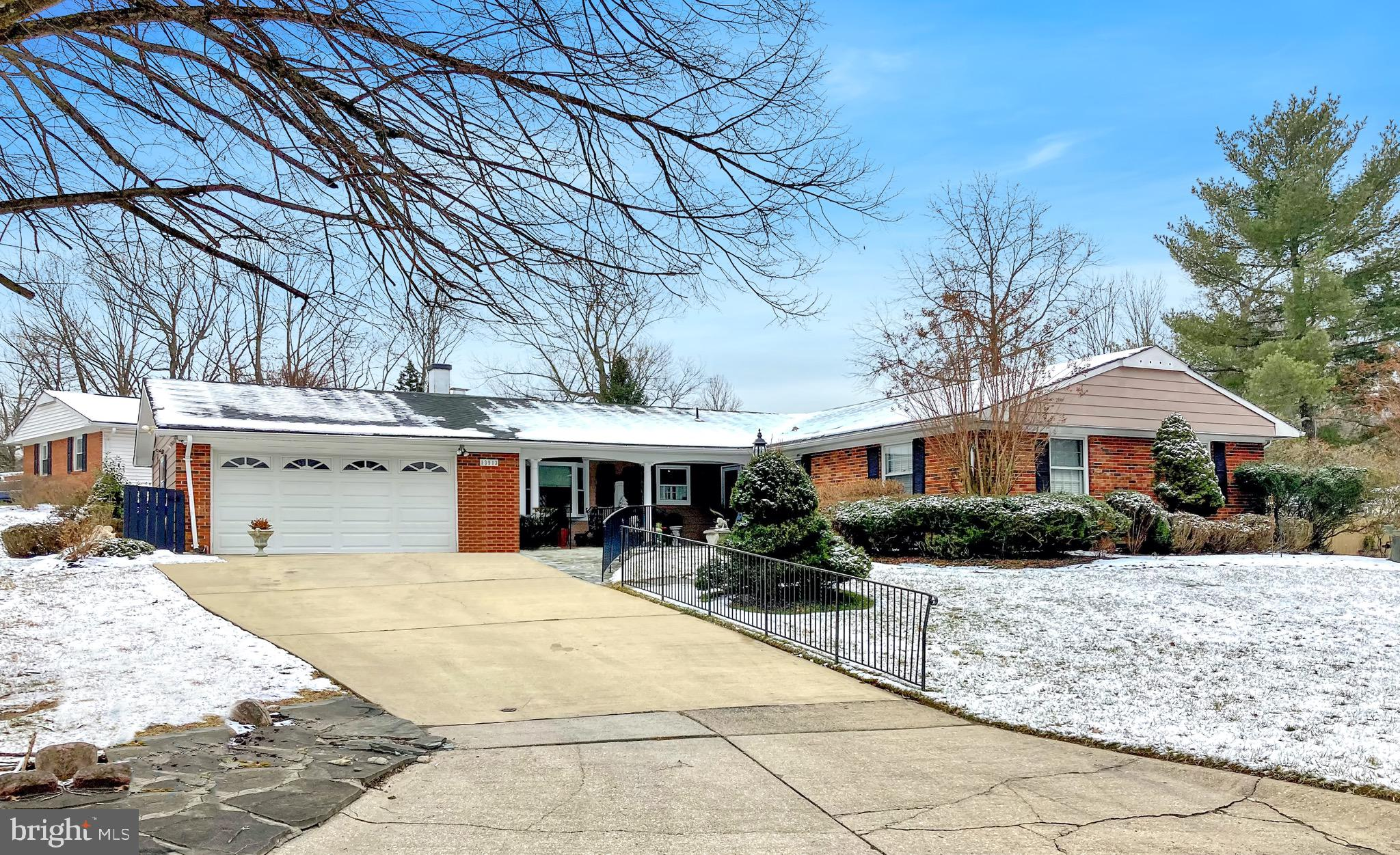 Gorgeous rambler with 4 bedrooms and 2 baths.  Updated kitchen with granite counters and recessed li