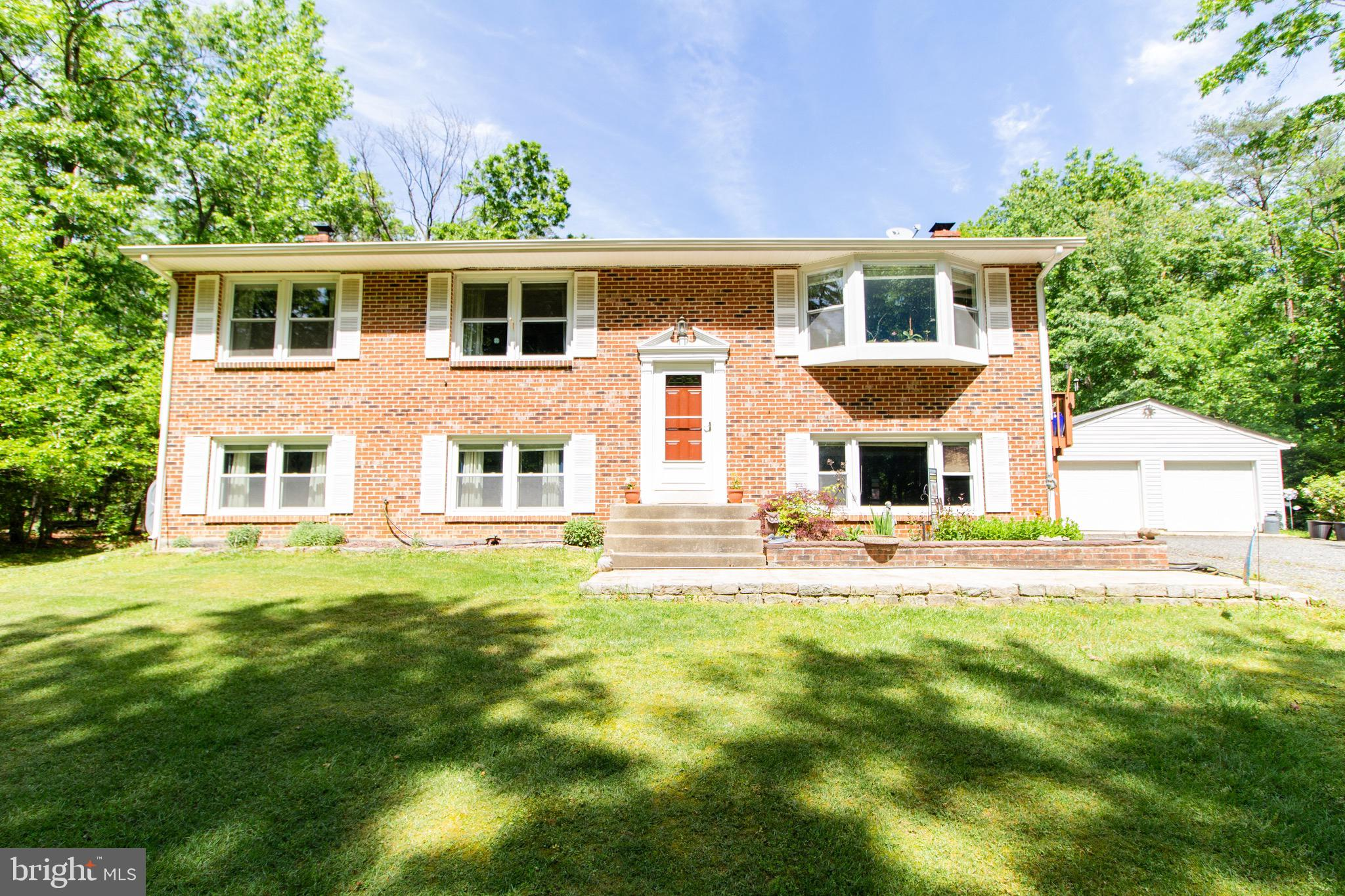 Photos coming soon! Meticulous brick front split foyer on secluded 4.3 beautiful acres in well sough