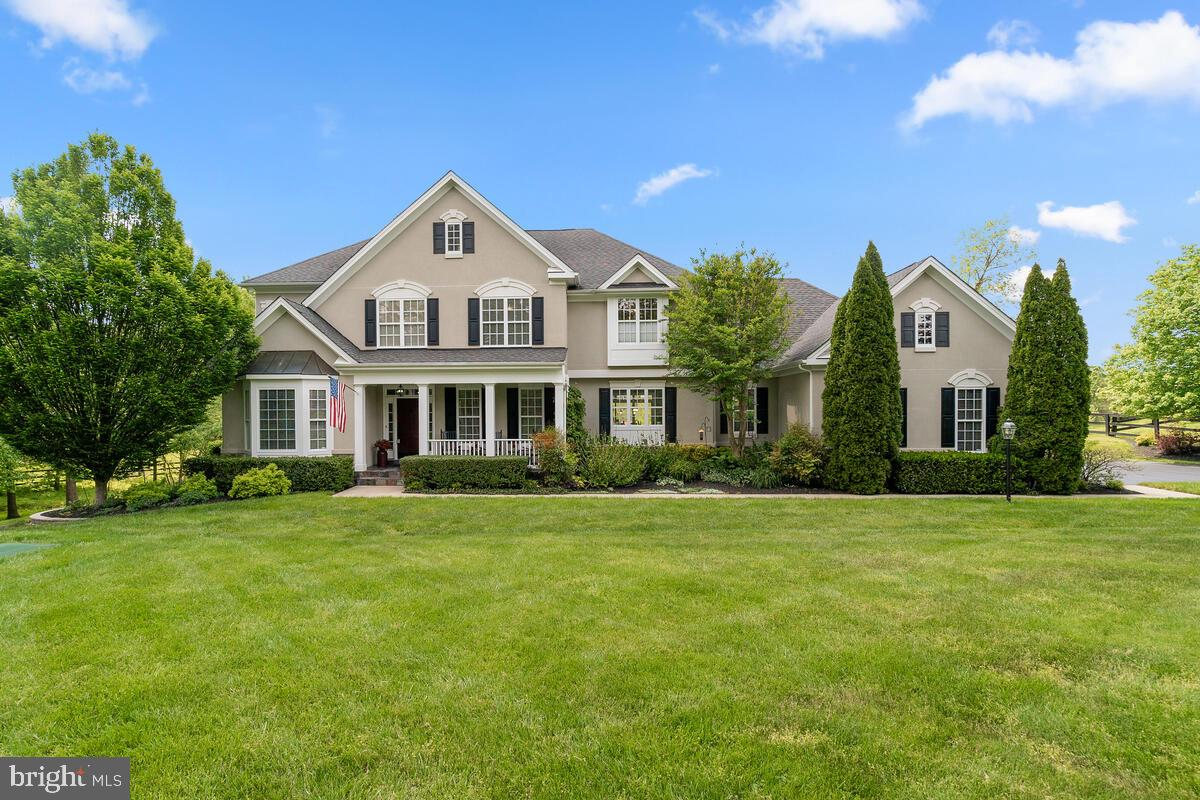 Absolutely stunning  single family home on an incredible 4.5 acres in lovely Oak Knoll Farms just ou