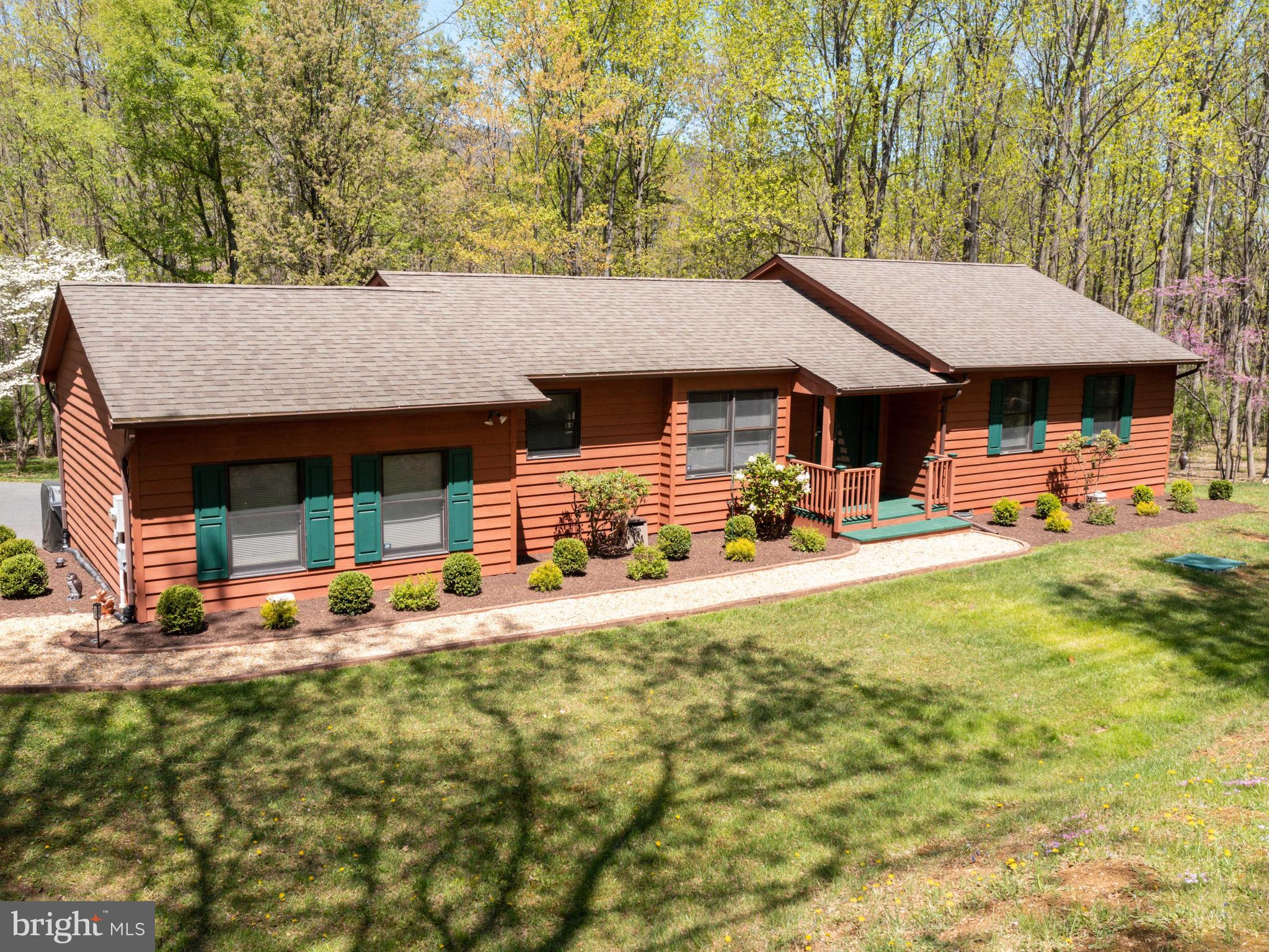 Private, picturesque setting in the Frederick County, VA neighborhood of Shawneeland with Xfinity Ca
