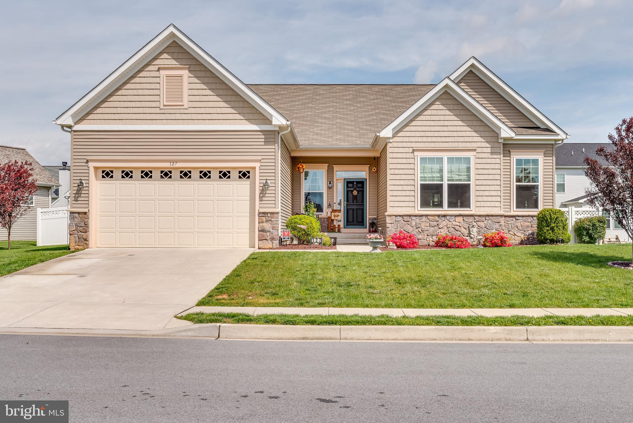 This 4 bedroom 3 full bath rancher has been impeccably maintained. The home has tons of curb appeal
