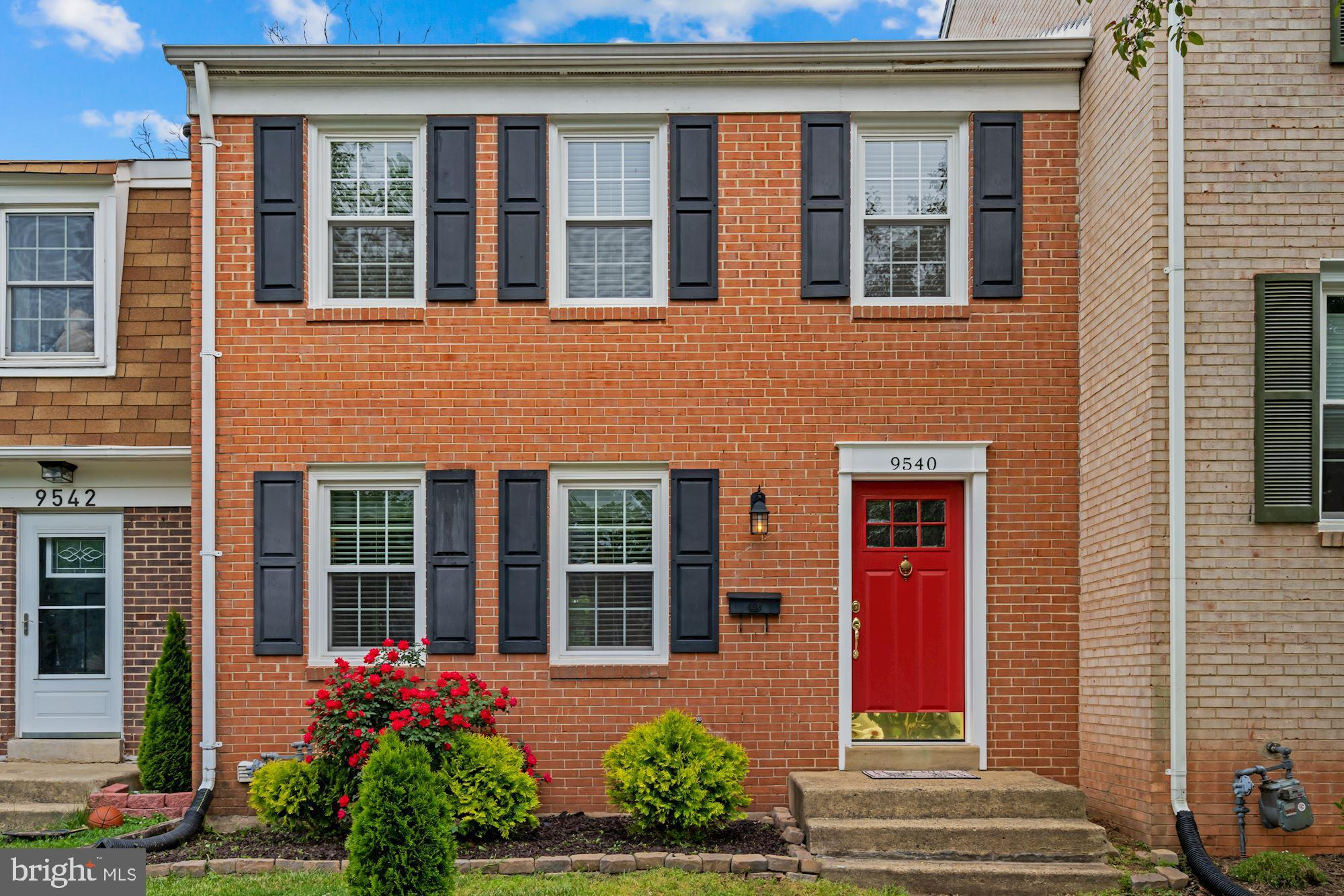 Beautiful brick front home with 3 finished levels. UPDATED kitchen cabinets, upper bathroom, windows
