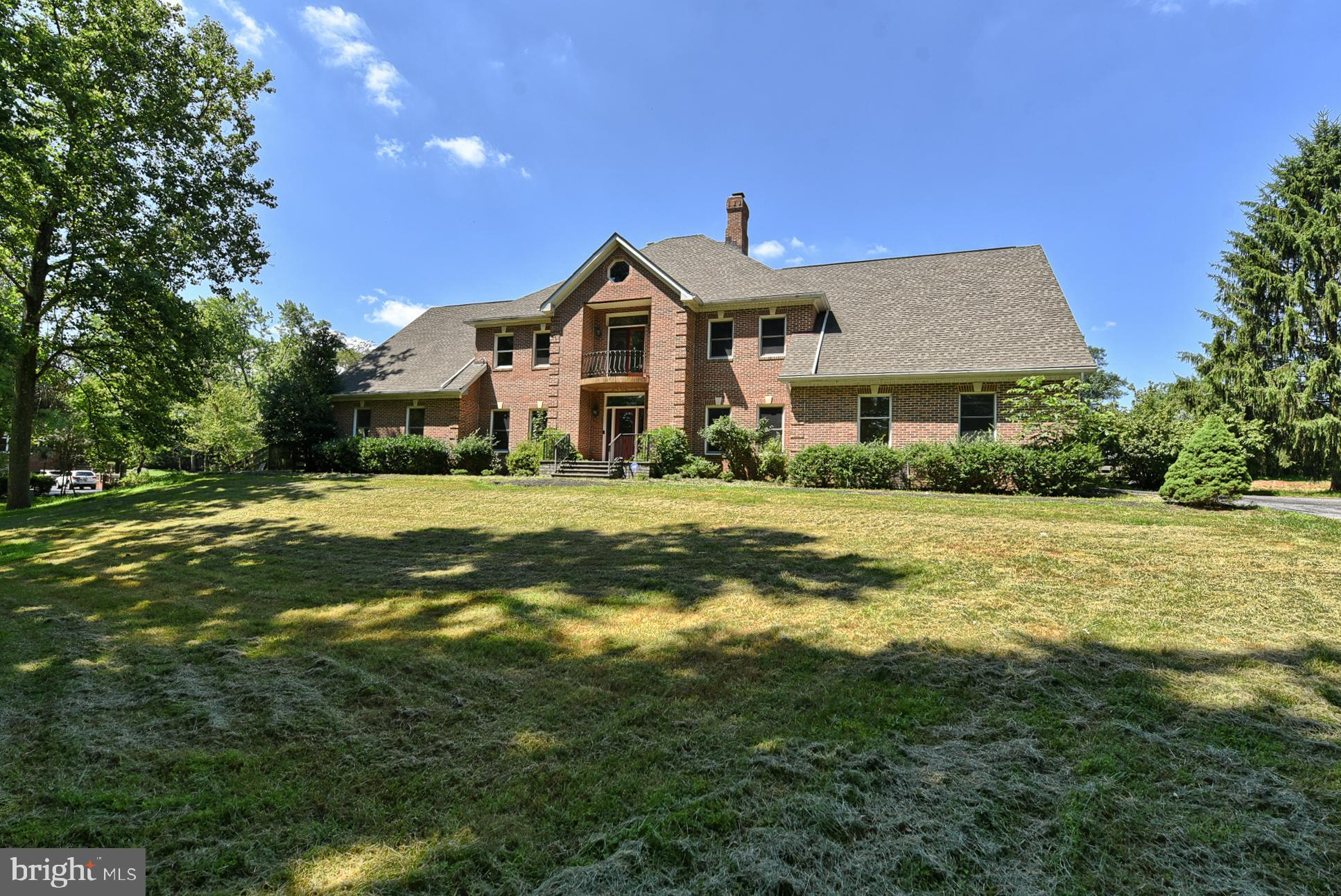 This must see 5 bedroom 5 full bath 2-car garage stately all brick colonial on prime 3.49 acre cal-d