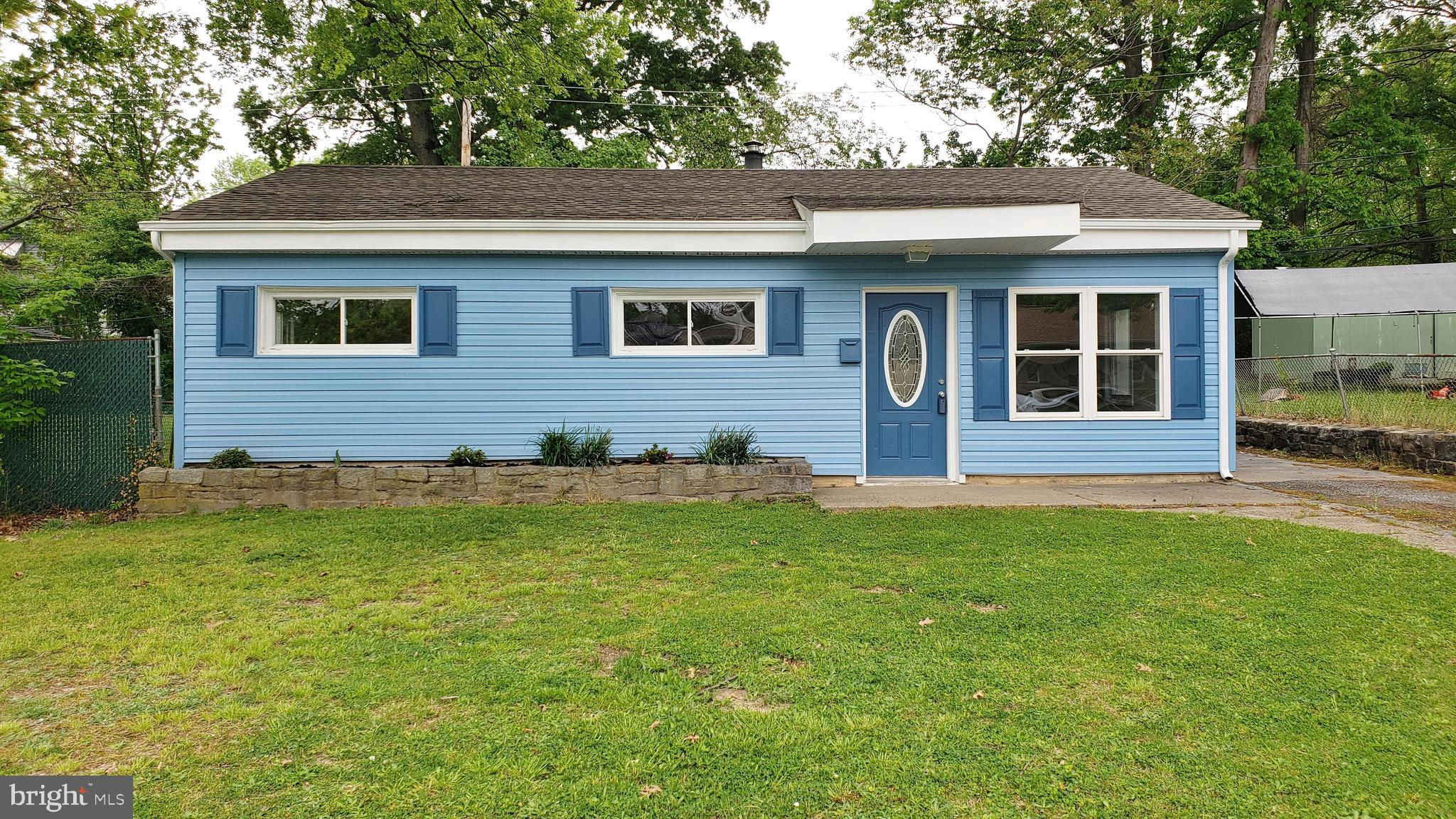 Newly renovated 3 Bed / 1 Bath single family Ranch Home in Dunleith. This home features new flooring