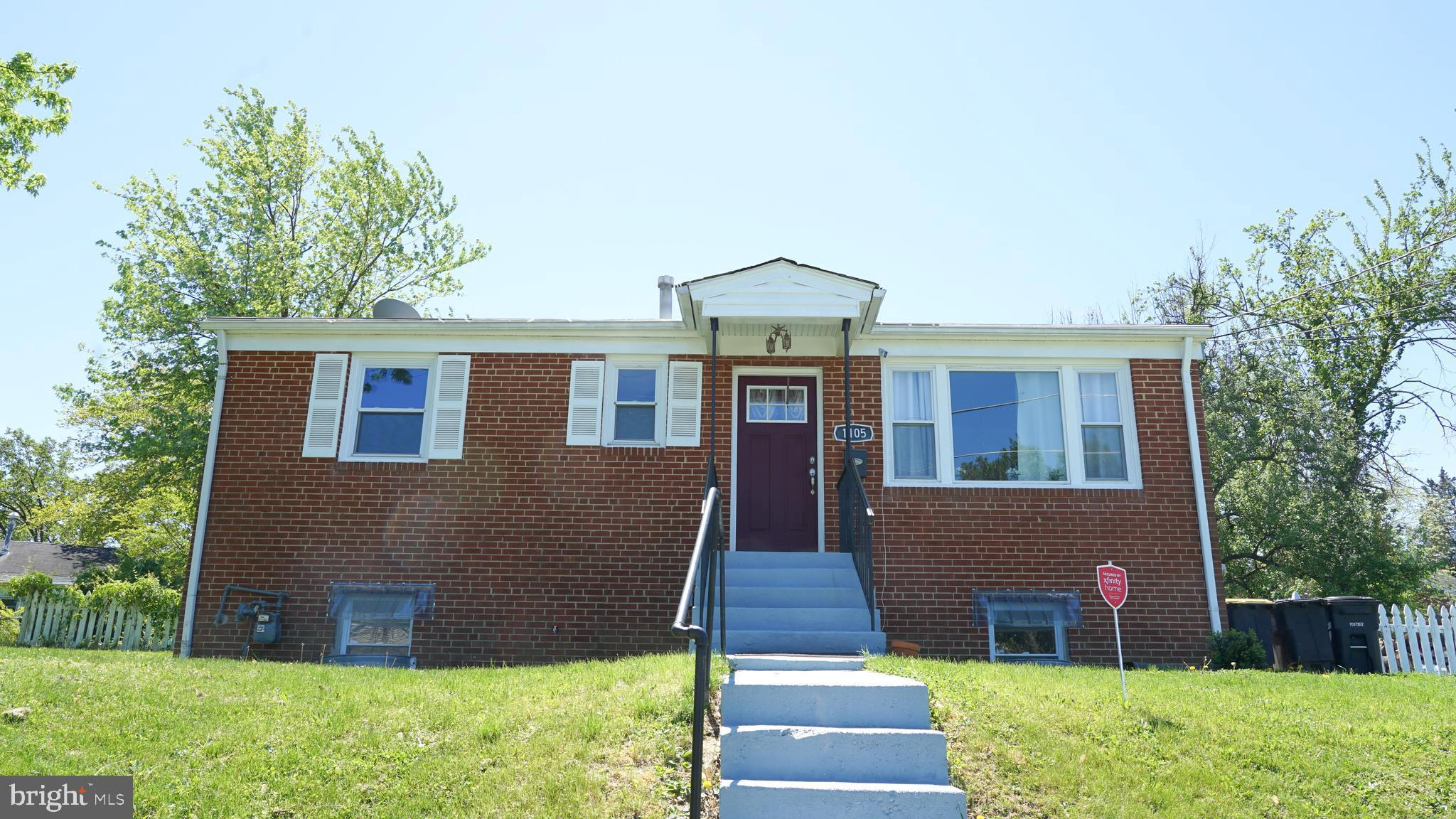 This charming home just over the DC border in Oxon Hill features 4 Bedrooms and 2 full bath.  All ap