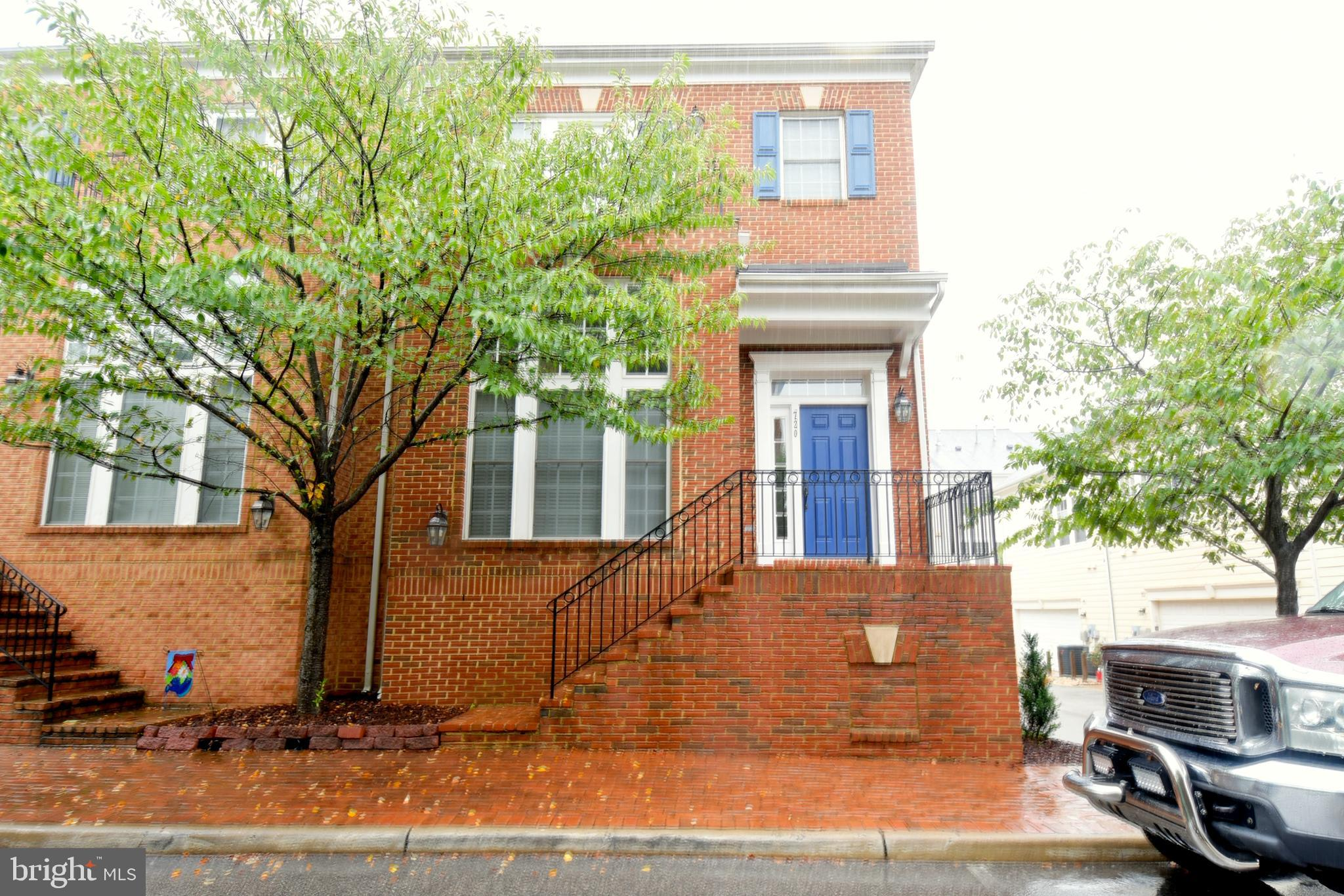 You'll fall in love with this 3 finished level brick front townhouse tucked away in the heart of Bel