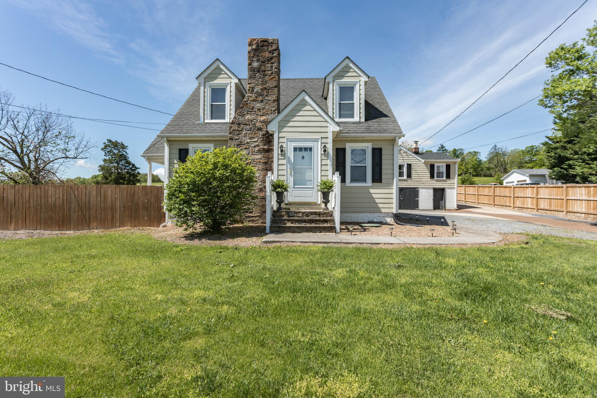 Charming home situated on 1 acre (double lot) just minutes from Winchester.   Completely renovated 8
