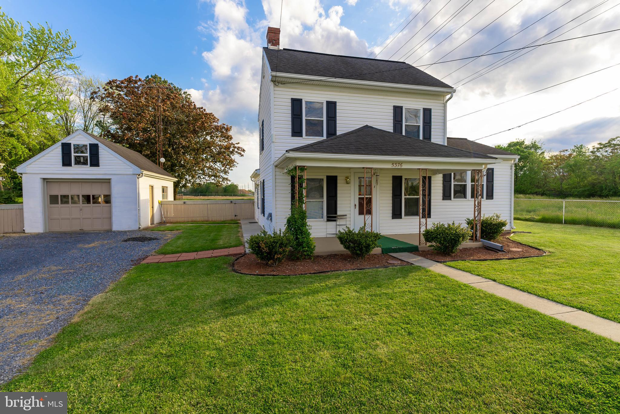 Remodeled farm house located close to I81.  Close to P&G and Amazon facility.  Lovely corner lot wit