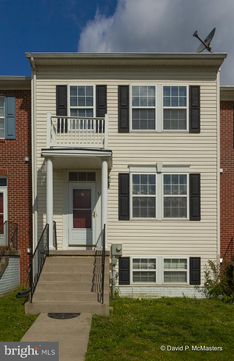 Spacious, 3 level finished townhome just off Rte. 340 in Charles Town offer a superb location for th