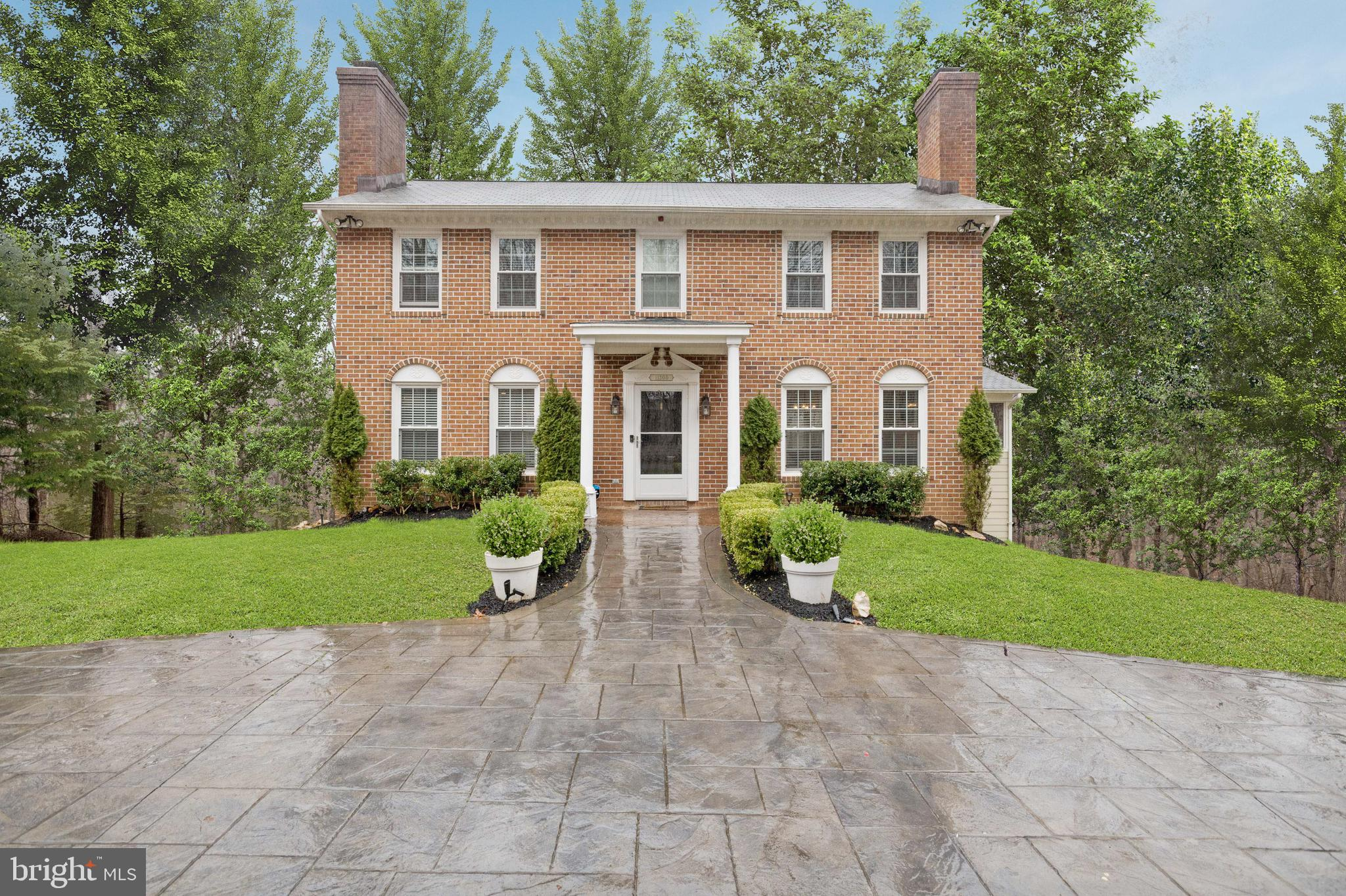 Welcome to your Occoquan Oaks Home! This gorgeously updated home sits on 5 acres, making it your oas