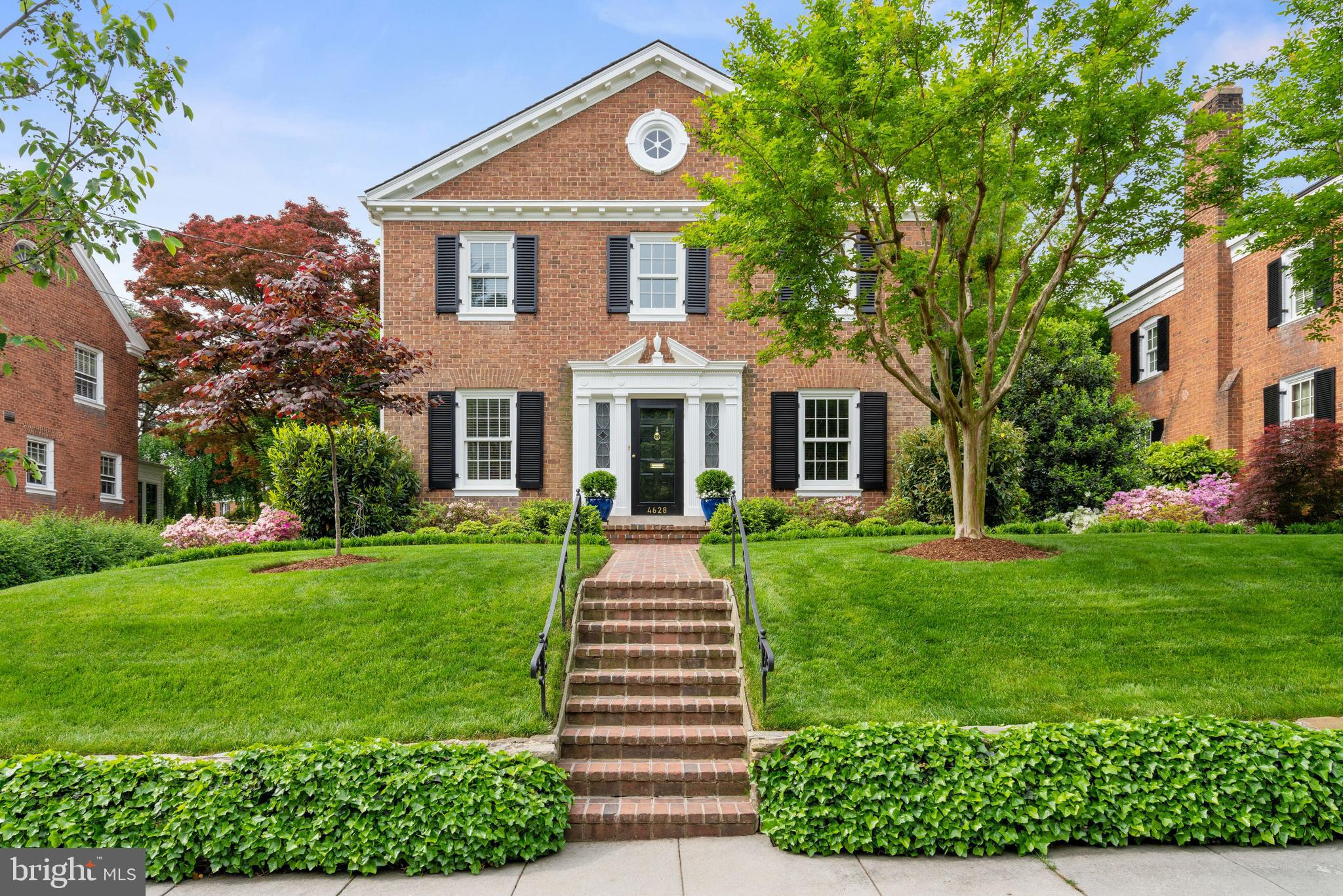 Open Sunday 1-4pm Exquisitely appointed and meticulously maintained, this stately Georgian-style hom