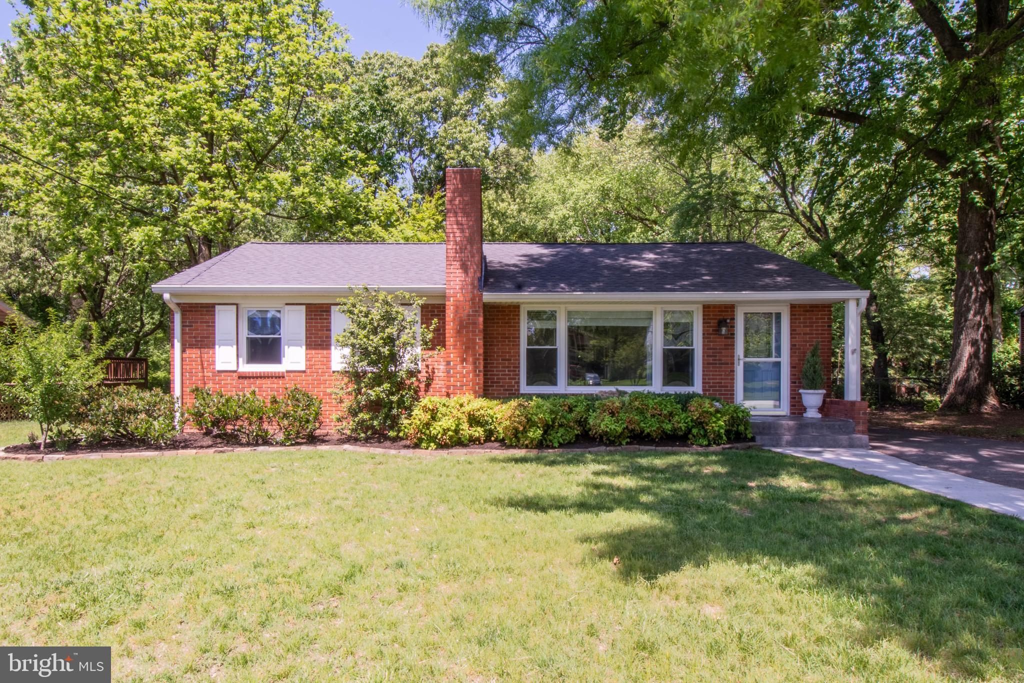 Open House Sunday 5/16 11-1pm. Wonderfully updated  brick front rancher in a great location. This pr
