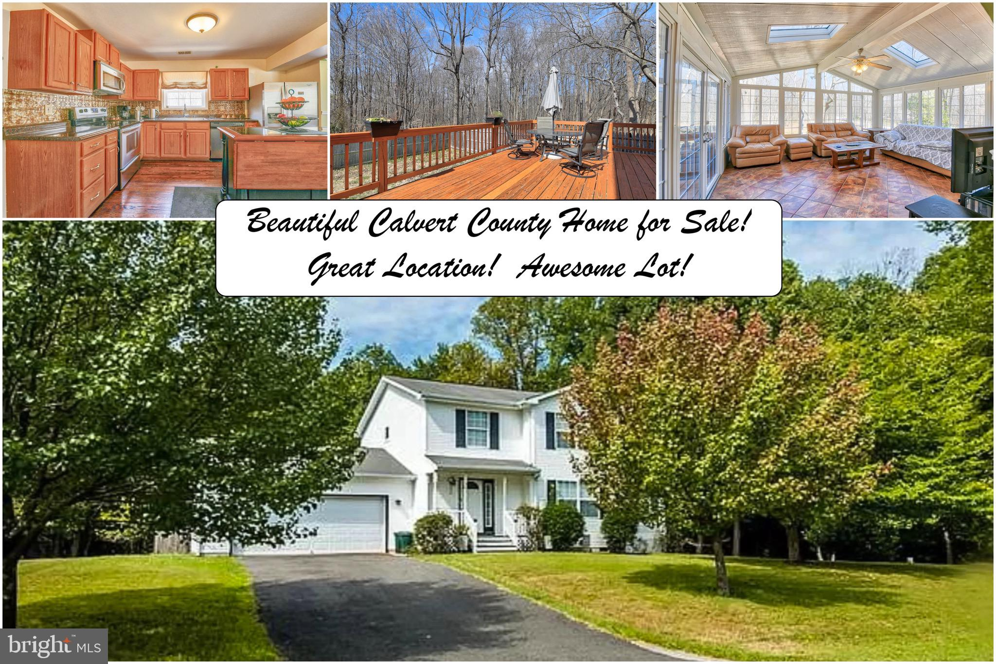 Welcome home to this beautiful, well maintained, Chesapeake Beach home, in the Lake Karylbrook commu