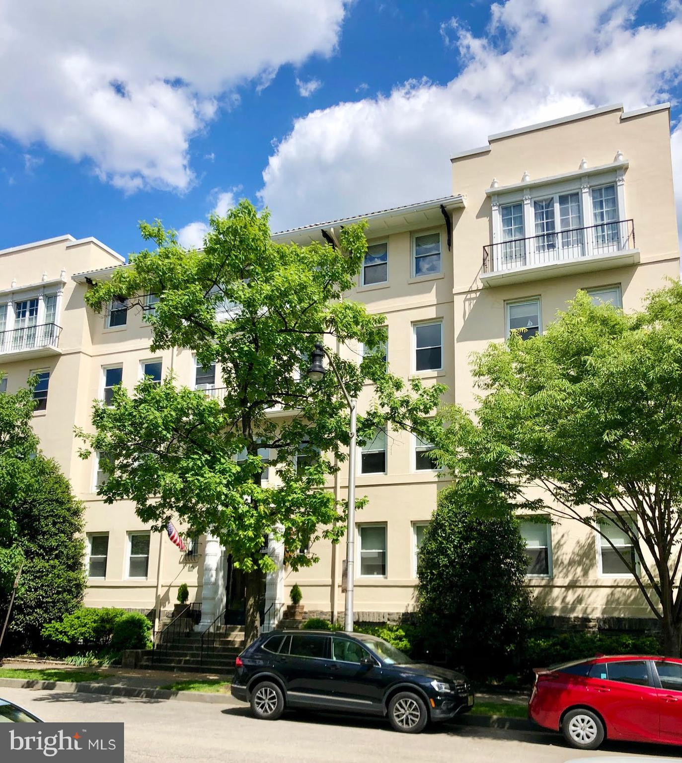 Two bedroom apartment in an ideal location, near Johns Hopkins University, shops, restaurants and more! Charming features throughout...hardwood floors, decorative fireplace, grand entrance hall.  Extra storage.....washer/dryer in unit!  On street parking is for residents only.