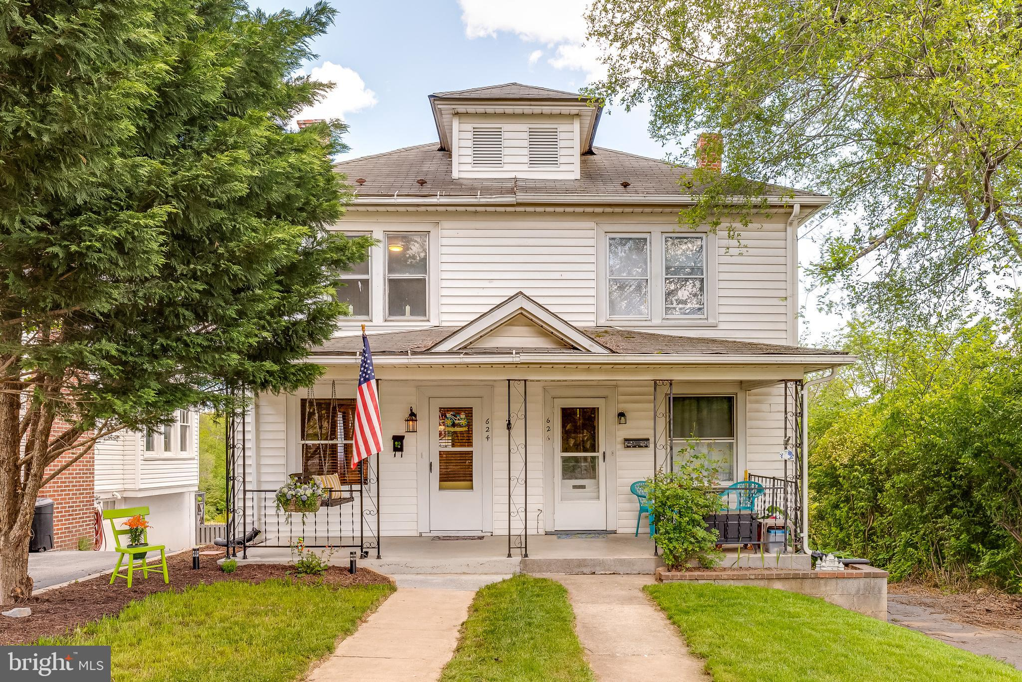 Come see this adorable home before it is gone! Located in Downtown Martinsburg just a few blocks fro