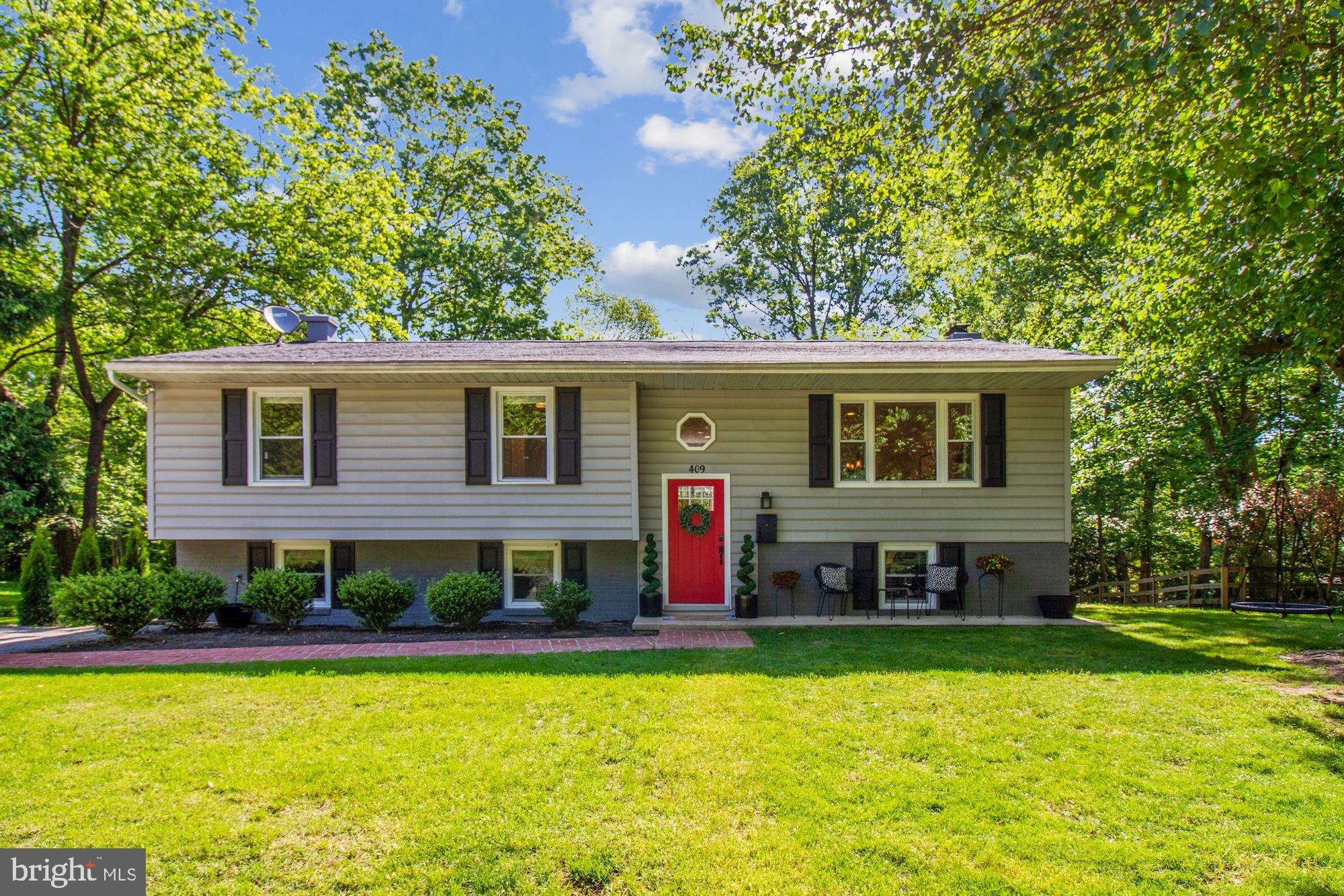 409 Fernwood Dr is a stunning renovation on nearly an acre lot in coveted Severna Park. The entire h