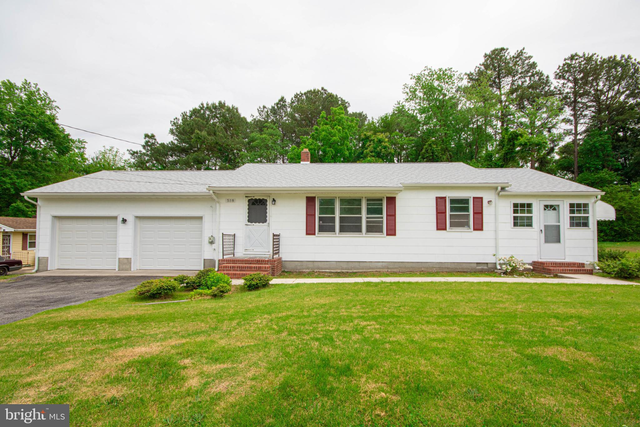 Back on the market and in better shape than ever!!! This beautiful home is move in ready, one level