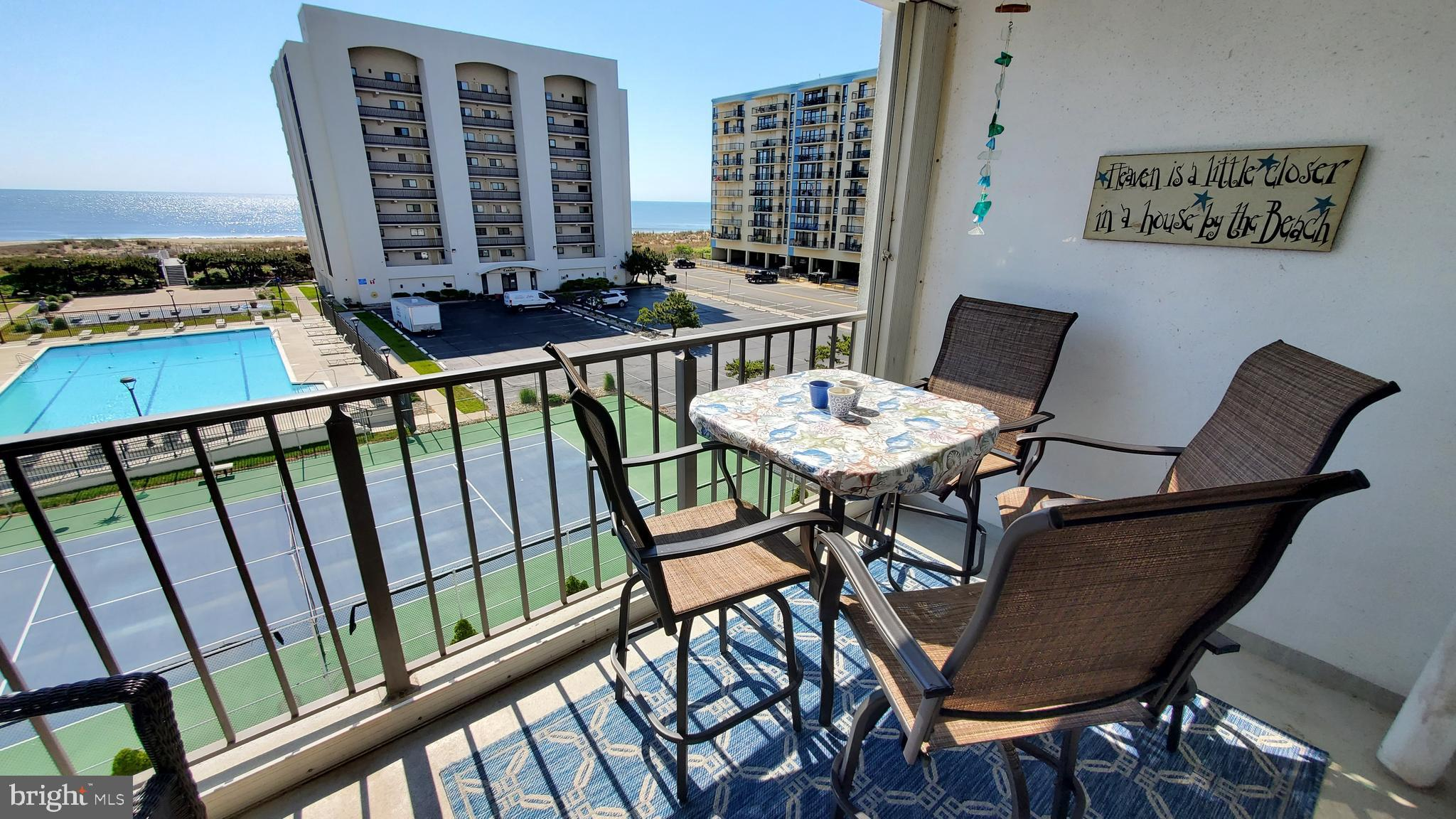 Turnkey North Ocean City 2-bedroom 2- bathroom renovated condo with amazing Ocean Views from living