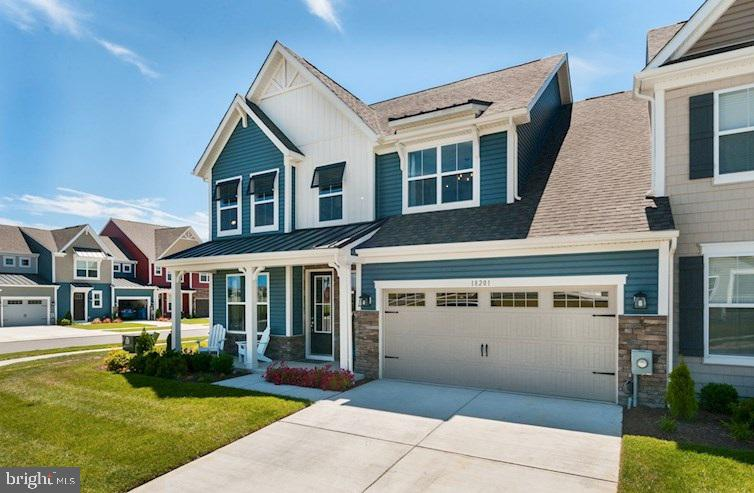 Beazer Homes at Bishops Landing is an amenity-rich resort-style community in Millville, Delaware tha
