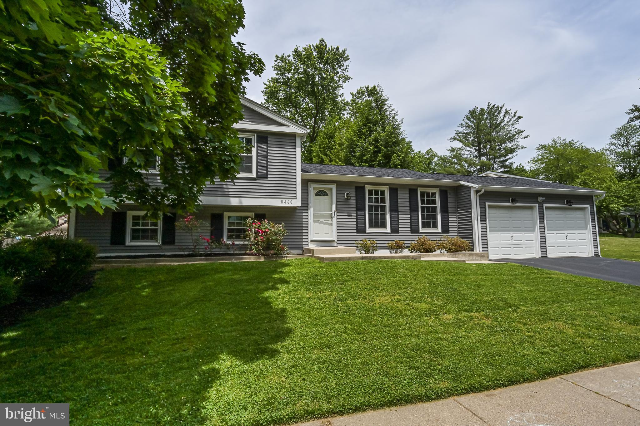 This gorgeous split-level home is located  on a cul-de-sac in the coveted Prosperity Heights community in Annandale, Virginia. Centrally located near the Capital Beltway (495), I-66, Route 50, and the Dunn-Loring Metro Station, this home provides convenient access for any commute, and yet has the feel of a quiet suburb, away from the hustle and bustle. This home features an open floor plan on the main level that includes an updated kitchen with stainless steel appliances, new stove and microwave in 2021, granite countertops, gleaming hardwood floors and custom pendant lights. A kitchen island overlooks the  living and dining space and is perfect for entertaining. A sliding door from the dining room leads to the deck which overlooks the fully fenced, spacious backyard.  The upper level includes 3 bedrooms with newer carpet and two full bathrooms. The lower level family room has newer carpet and includes a cozy wood burning fireplace and access to the powder room. Unique to this home is a 4th bedroom suite which includes a private, full bathroom with double sinks. This versatile space provides walk out access to the backyard and new patio via French doors and can be used as an in-law suite, au pair/nanny accommodations, guestroom, or private office space. This home also includes a finished basement and two-car garage. Exterior siding, roof, shutters and gutters replaced in 2018. In addition to the neighborhood playground, this home is within walking distance to Eakin Park which boasts additional playgrounds, volleyball, tennis courts, a baseball field and pond as well as the Accotink Stream Valley trail, perfect for walking and biking. This amazing location is minutes away from the shops, restaurants and theater at the Mosaic District and Tysons Corner, and a short drive in either direction to the museums and sights of Washington, DC, Alexandria and Fairfax.