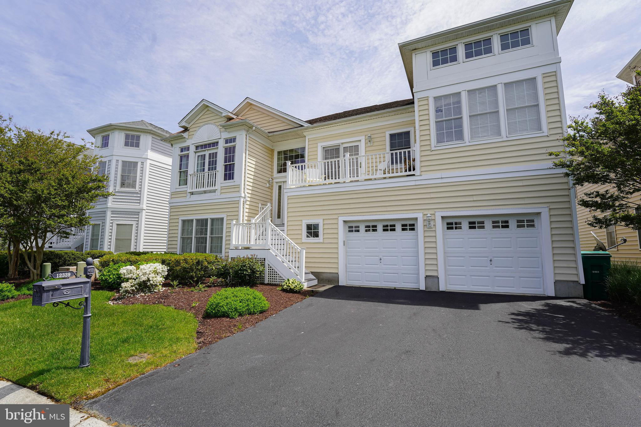 Check out this amazing home located in the luxurious Toll Brothers Community.  With a stunning water view, this former model comes fully furnished with all your needs. With a short drive to Ocean City, this home is the perfect getaway. Enjoy looking out over the waters from the upper deck, entertain guests with the downstairs pool room, or engage in all the amenities the clubhouse has to offer. This is the perfect summer home or place to retire!  Call and schedule your private tour today!