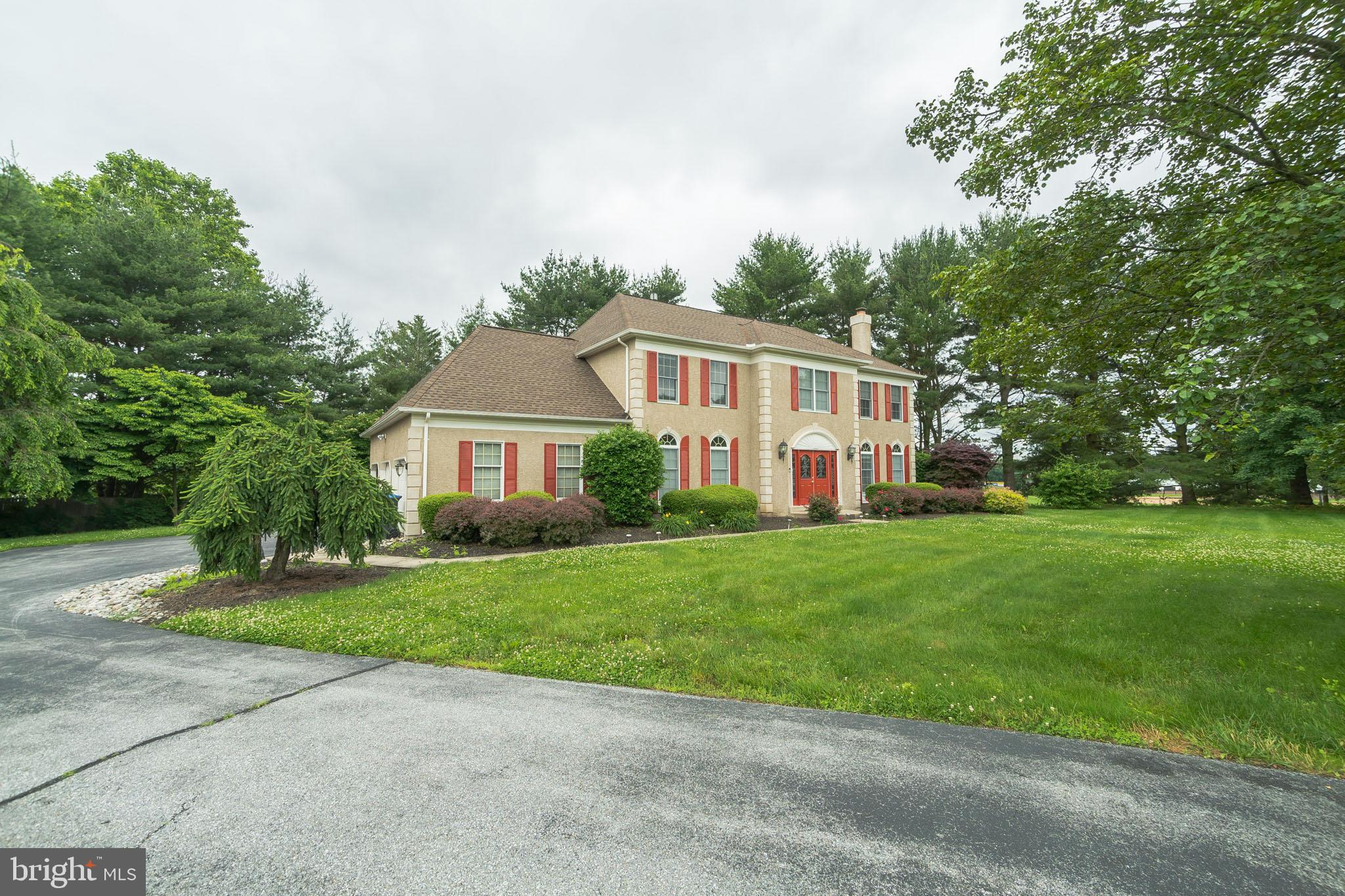 Amazing home in highly sought after Sanford Ridge in the heart of Hockessin that was built by Toll B