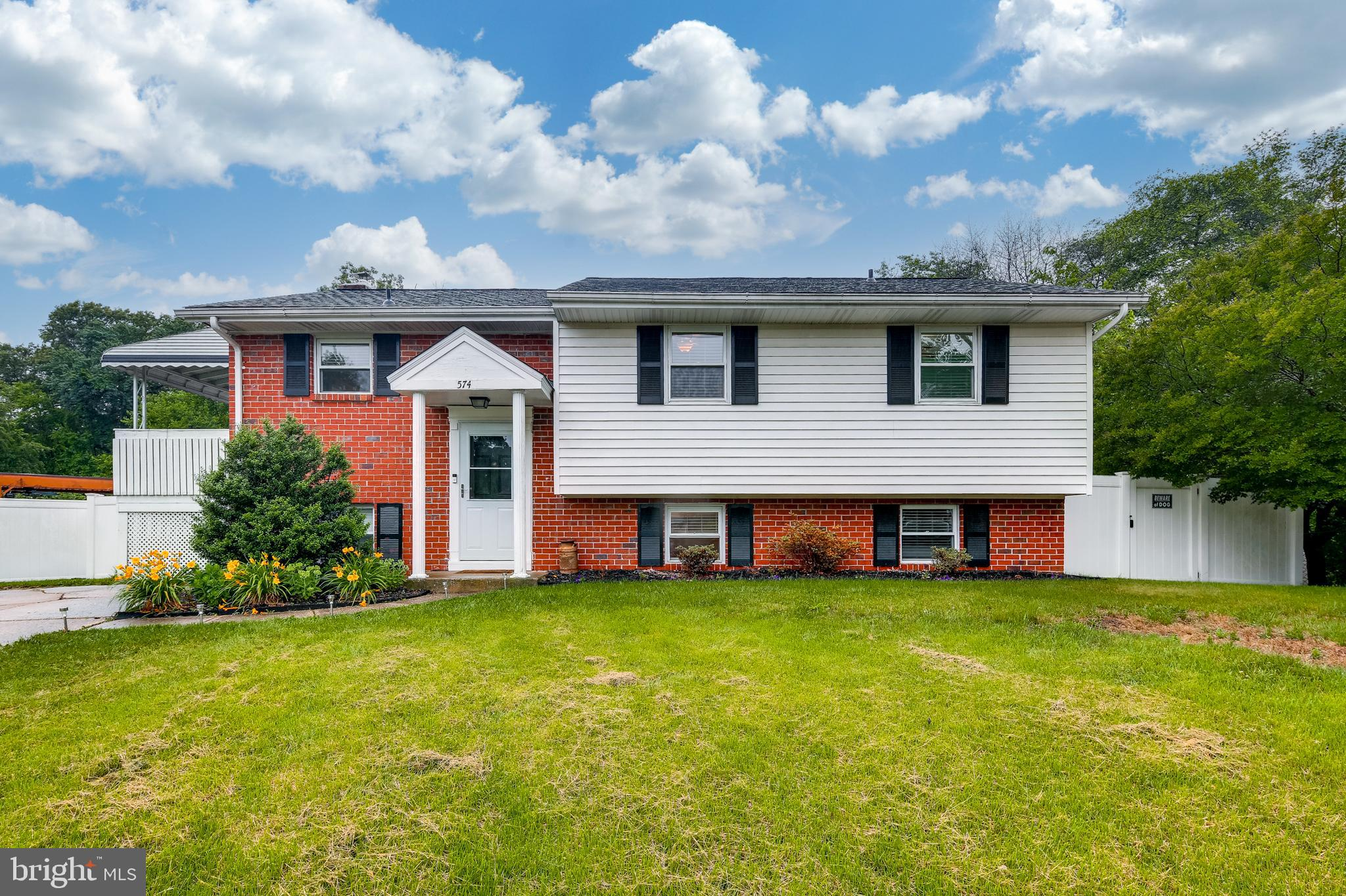 Beautiful split foyer home located on a cul de sac and backing to trees. This very well-kept home fe