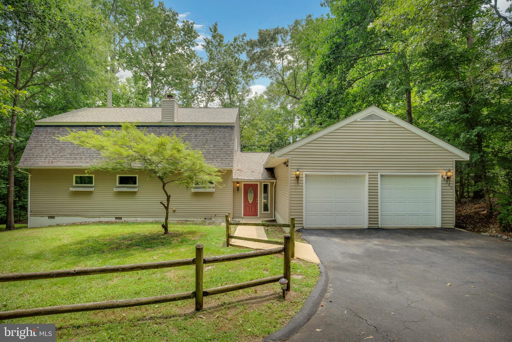 Such a special place to call home.  Private setting in the sought after neighborhood located  in the