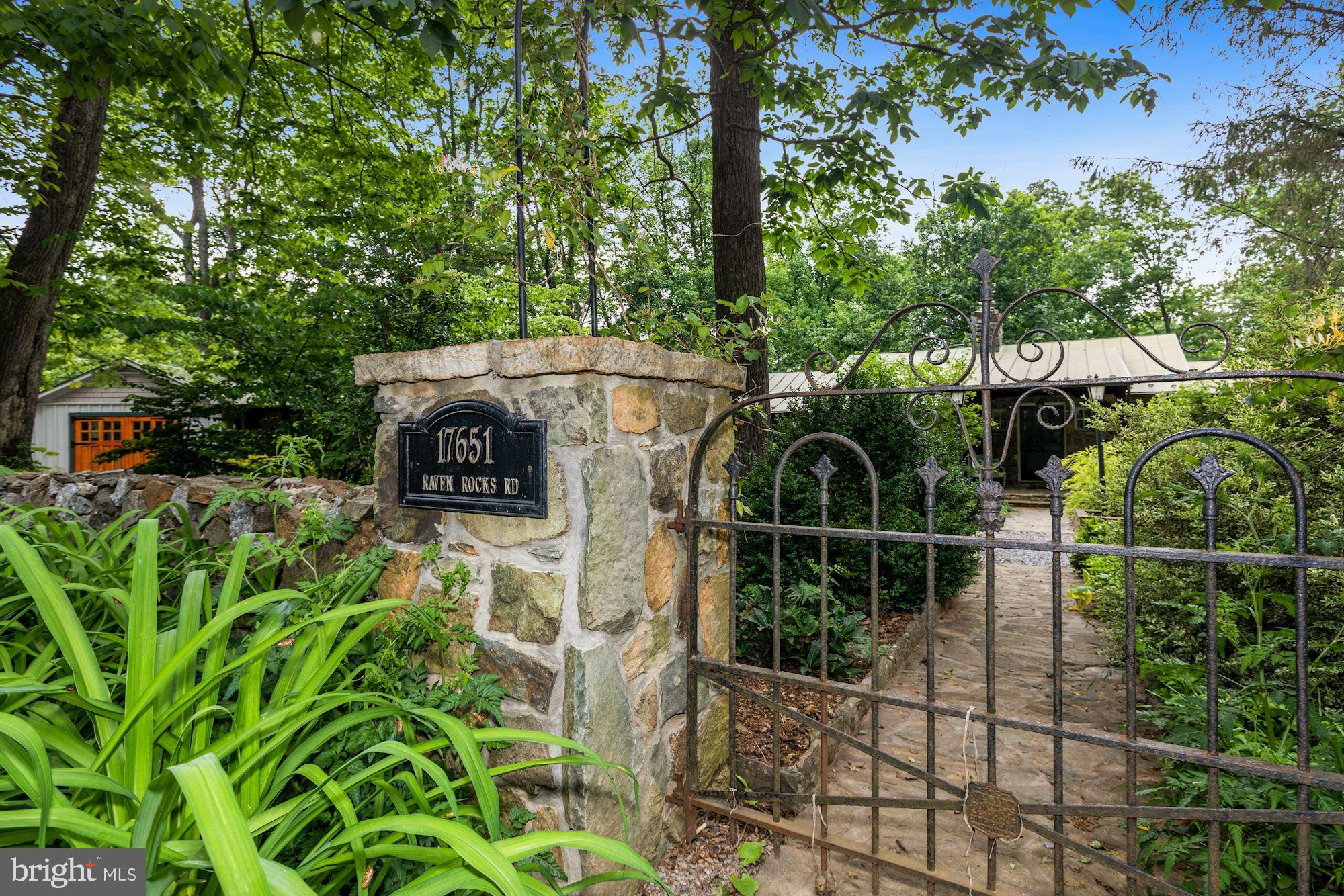 Charming can't describe the detail and comfort of this beautiful renovation in Bluemont.  Every deta